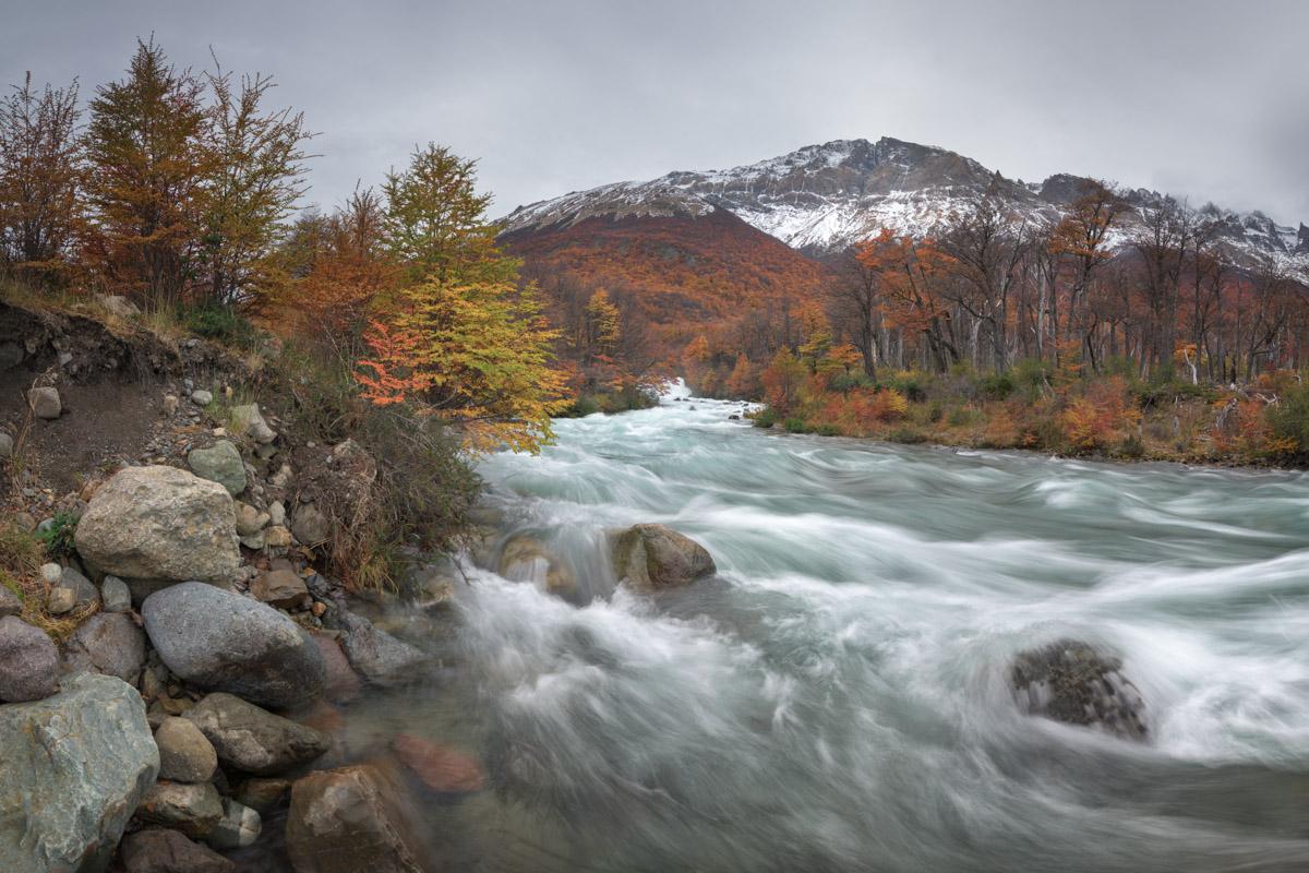Rio de las Vueltas Cascades, Los Glaciares National Park