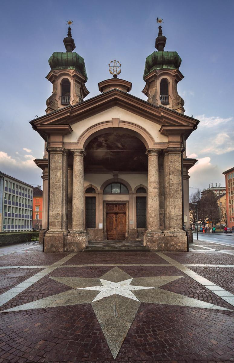 Johanneskirche, Innsbruck, Austria