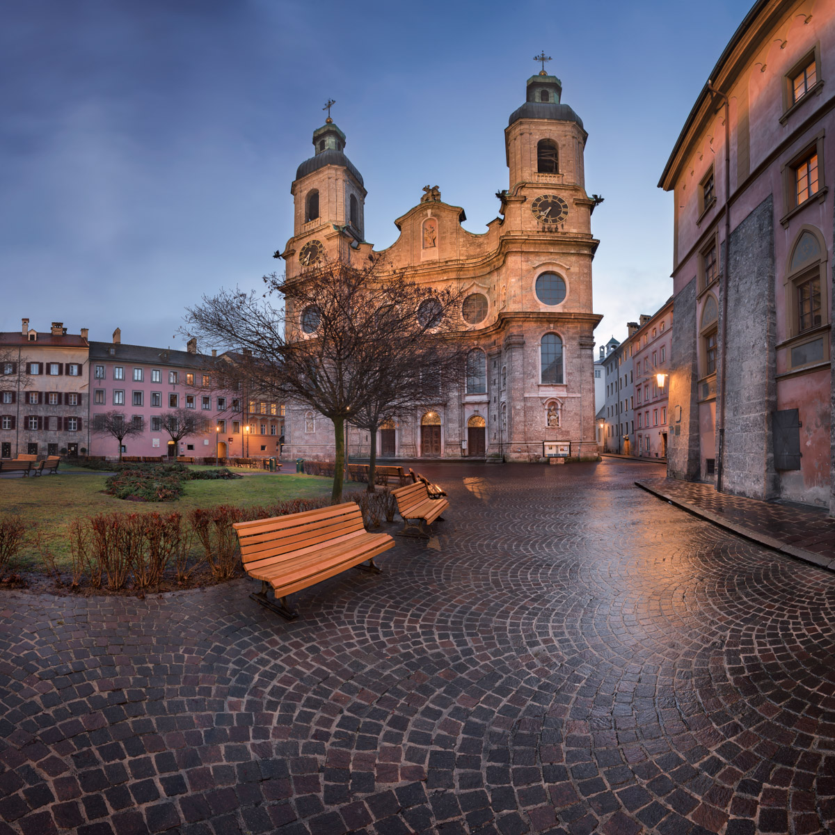 Saint Jacob Cathedral, Innsbruck, Austria