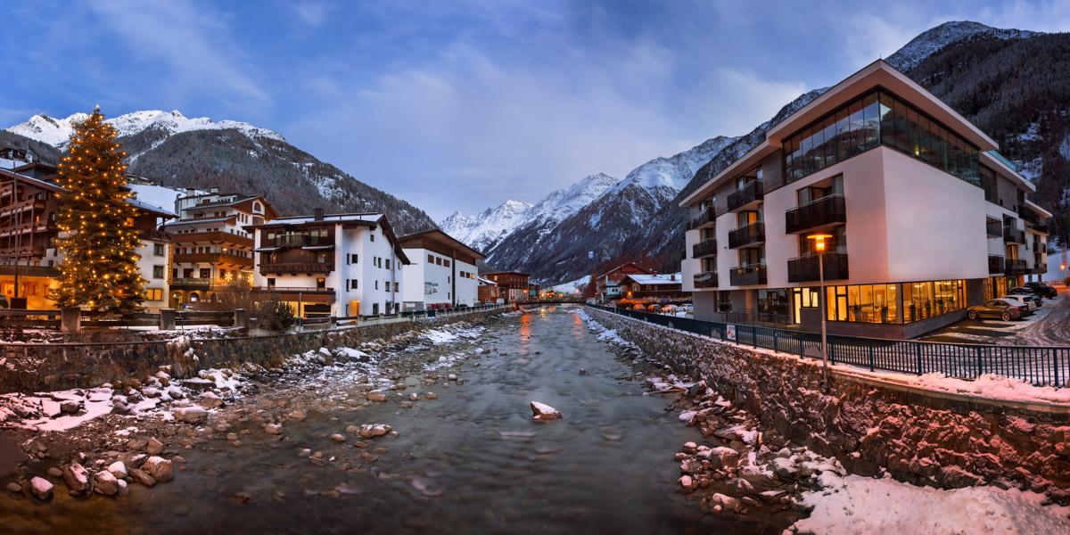 Soelden Ski Resort, Tyrol, Austria
