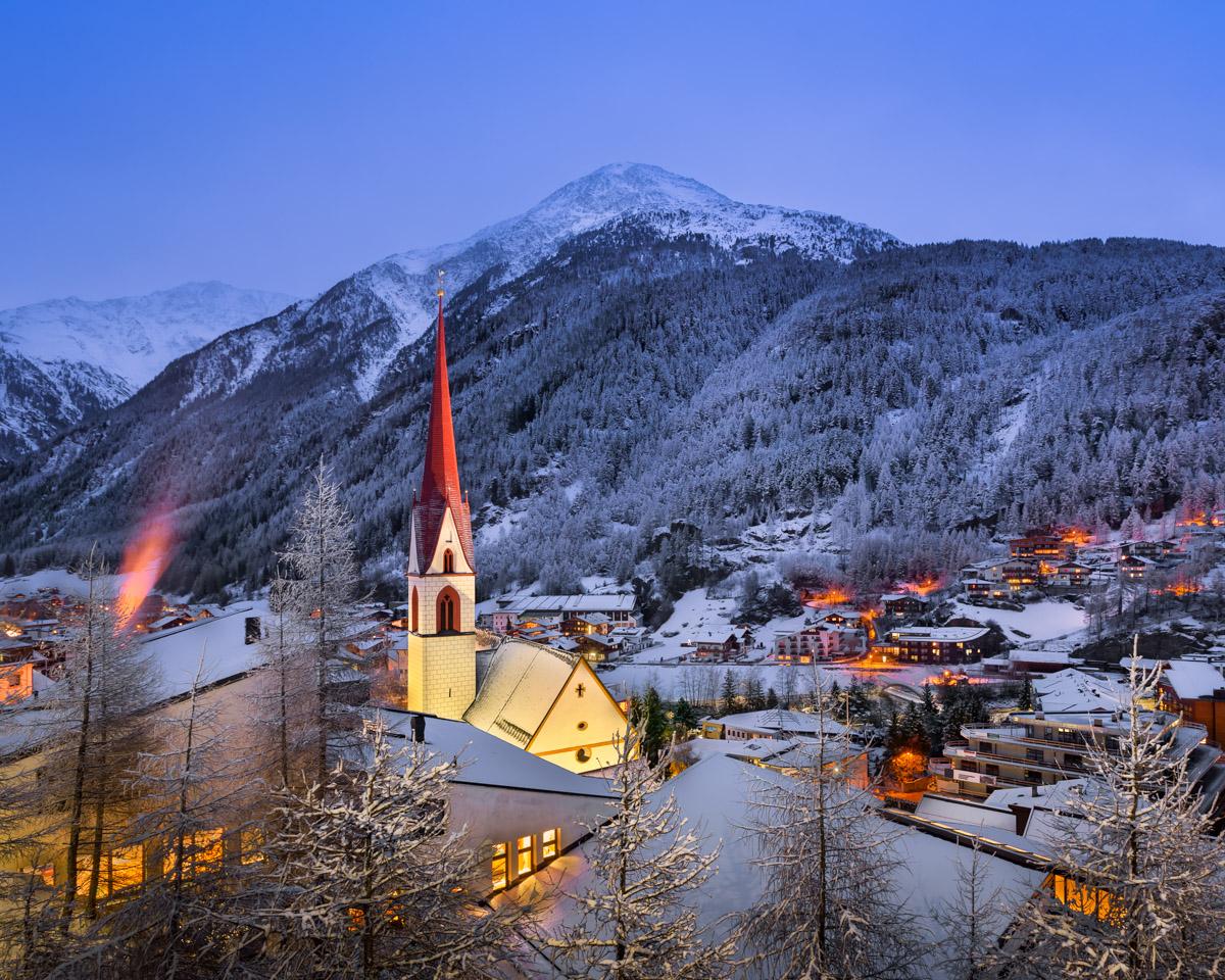 Soelden Skyline, Tyrol, Austria