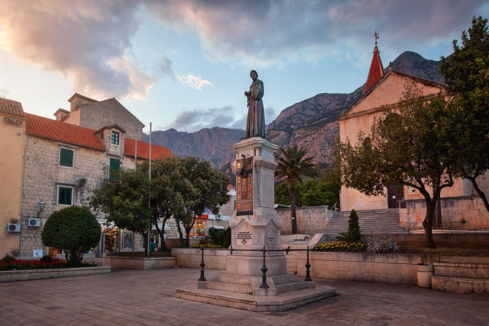 Andrija Kacica Square, Makarska, Croatia