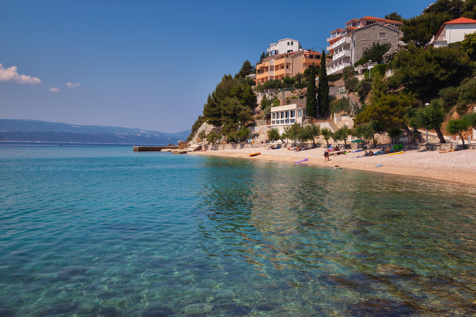 Adriatic Beach, Mimice, Croatia