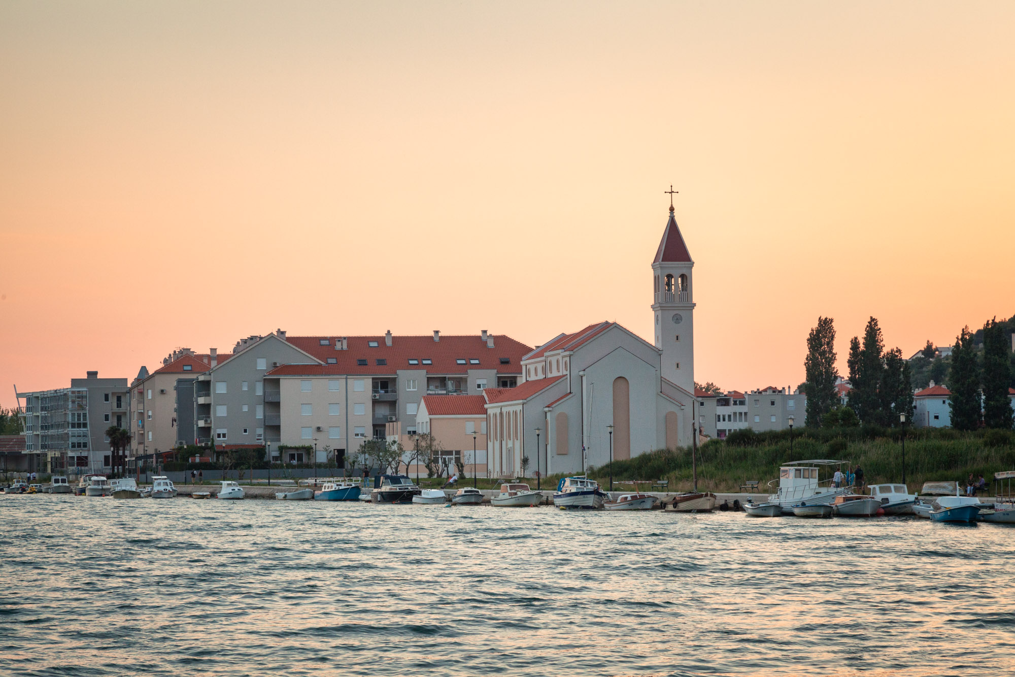 Church of Saint Peter on Priko, Omis, Croatia