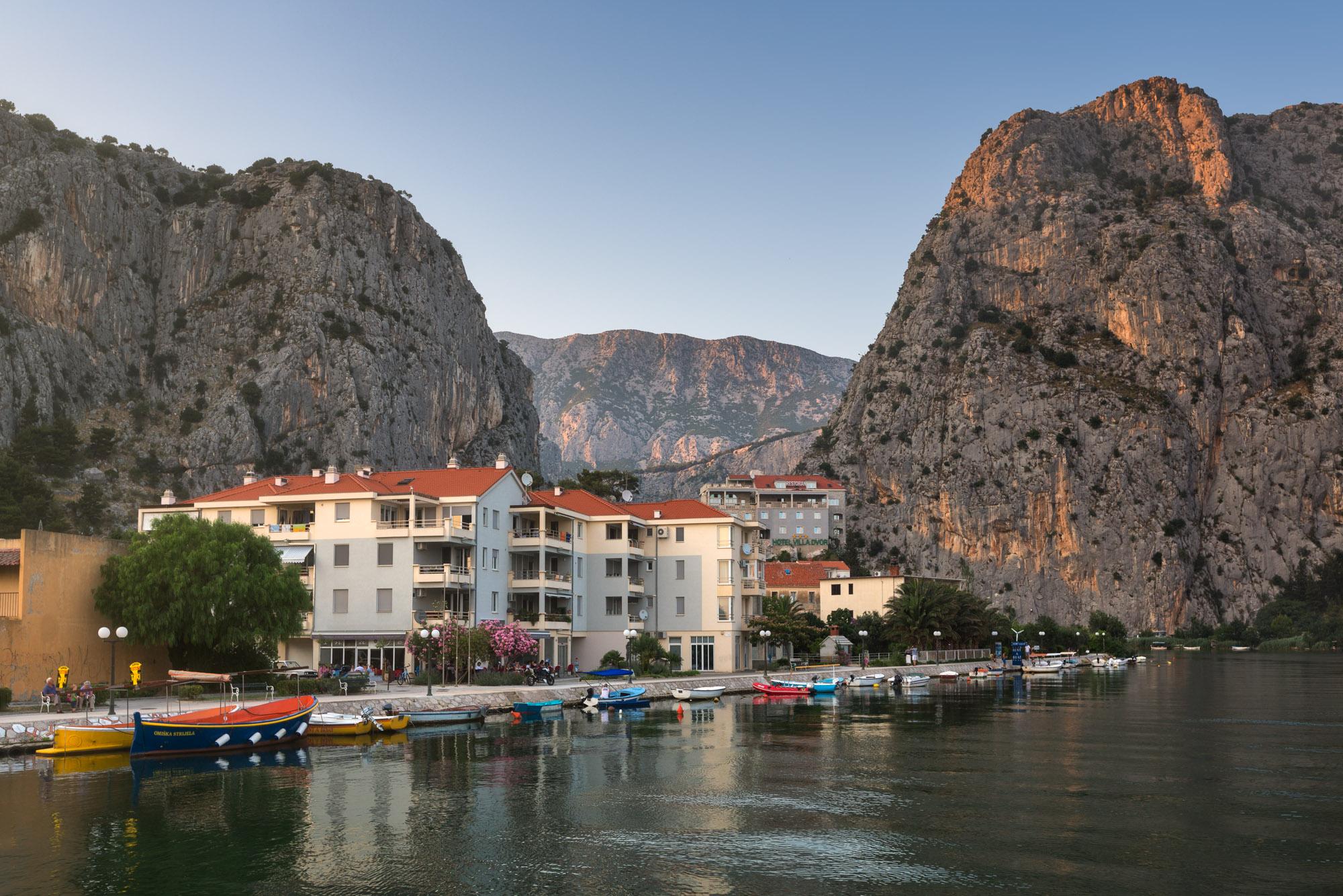 City of Omis and Cetina River, Croatia