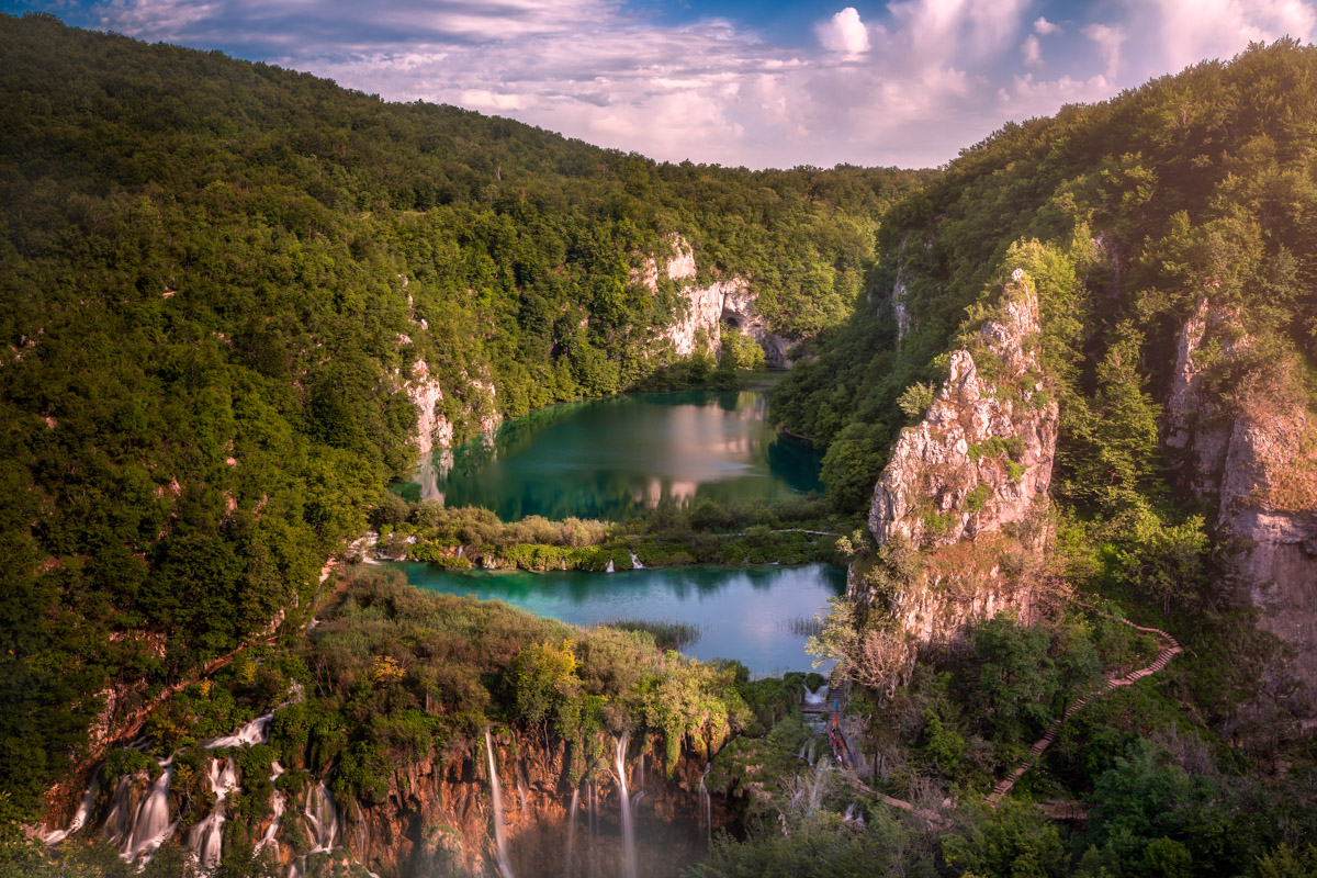 Donja Jezera in Plitvice National Park, Croatia