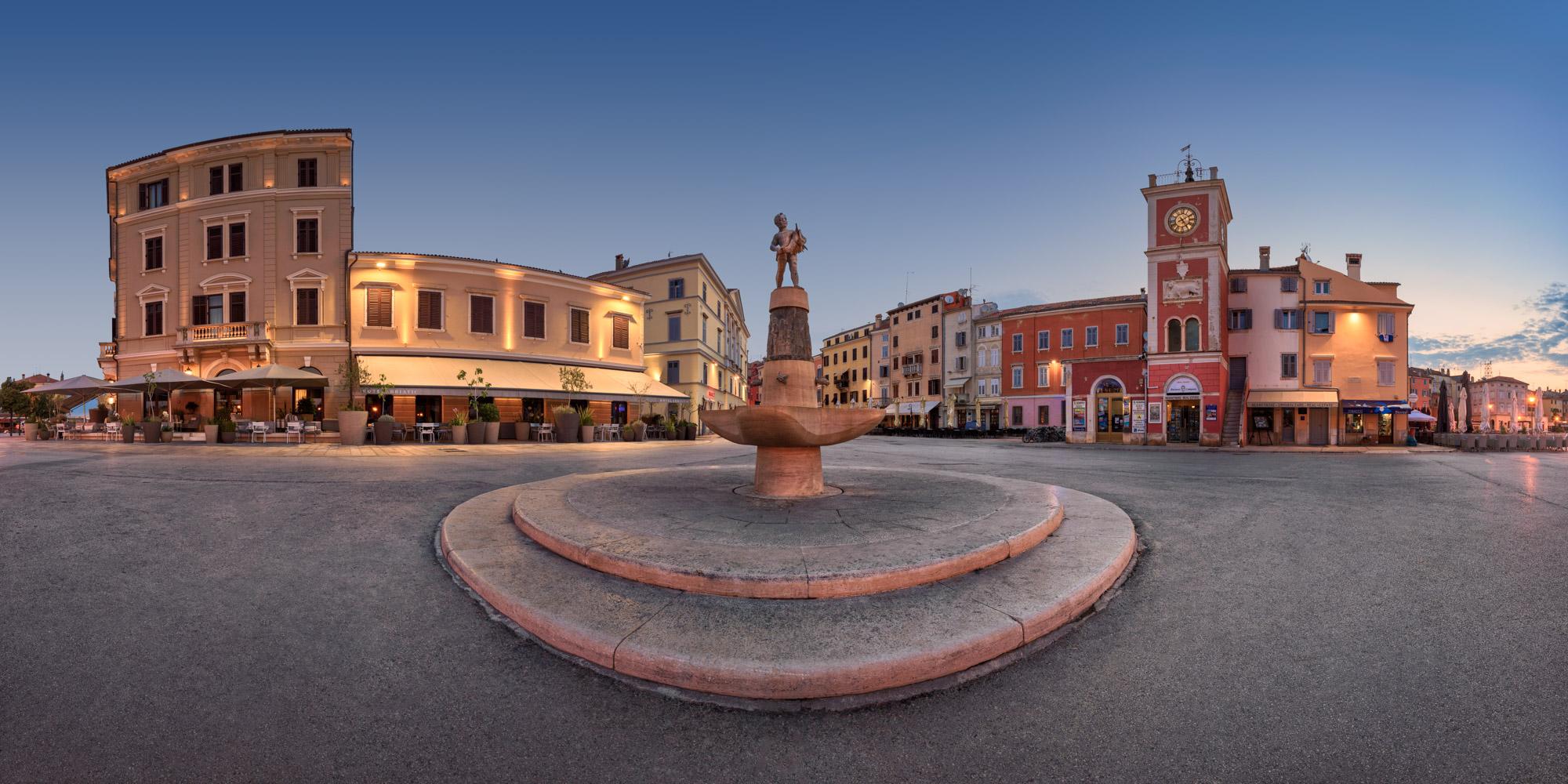 Marsala Tita Square, Rovinj, Croatia