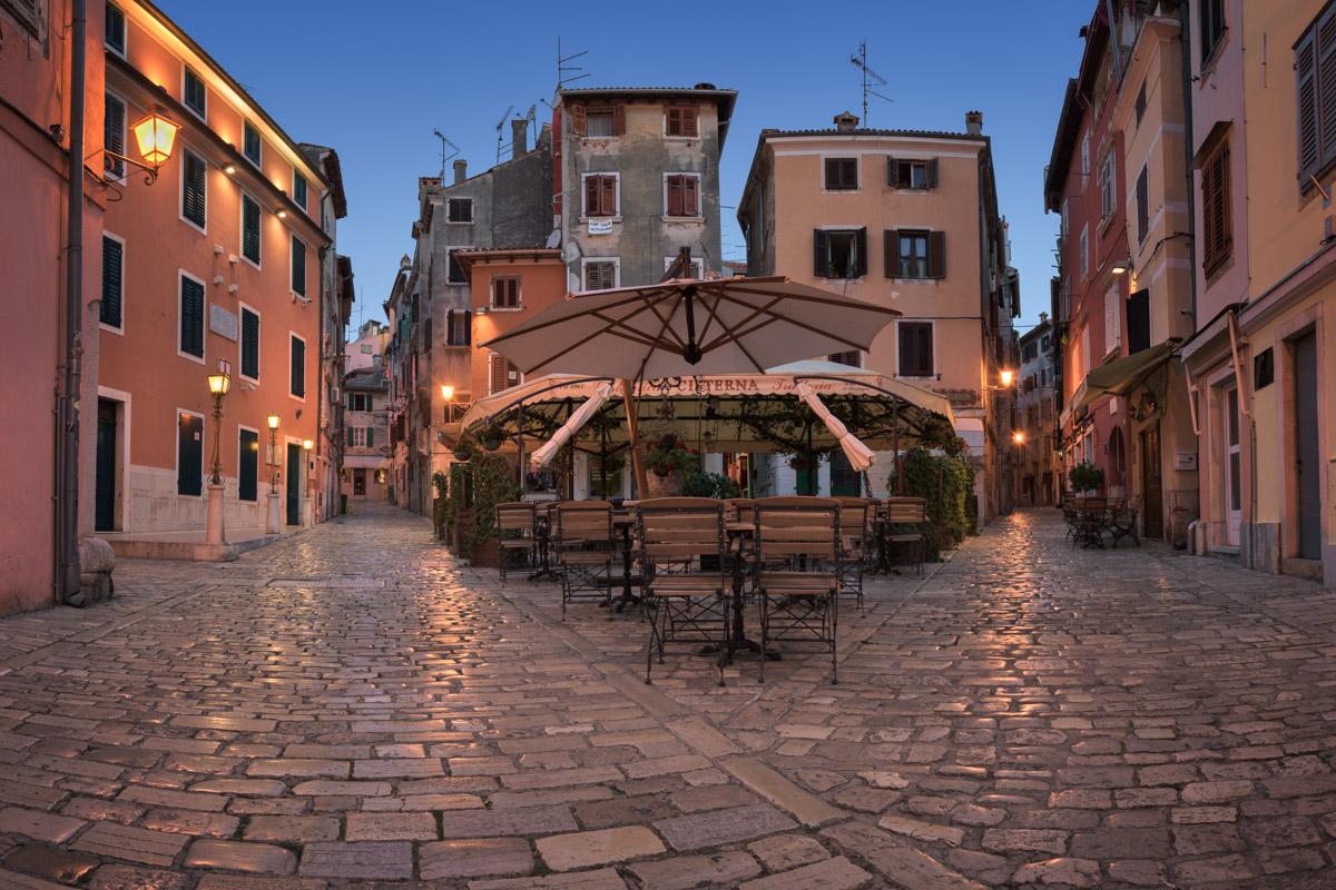 Matteotti Square, Rovinj, Croatia