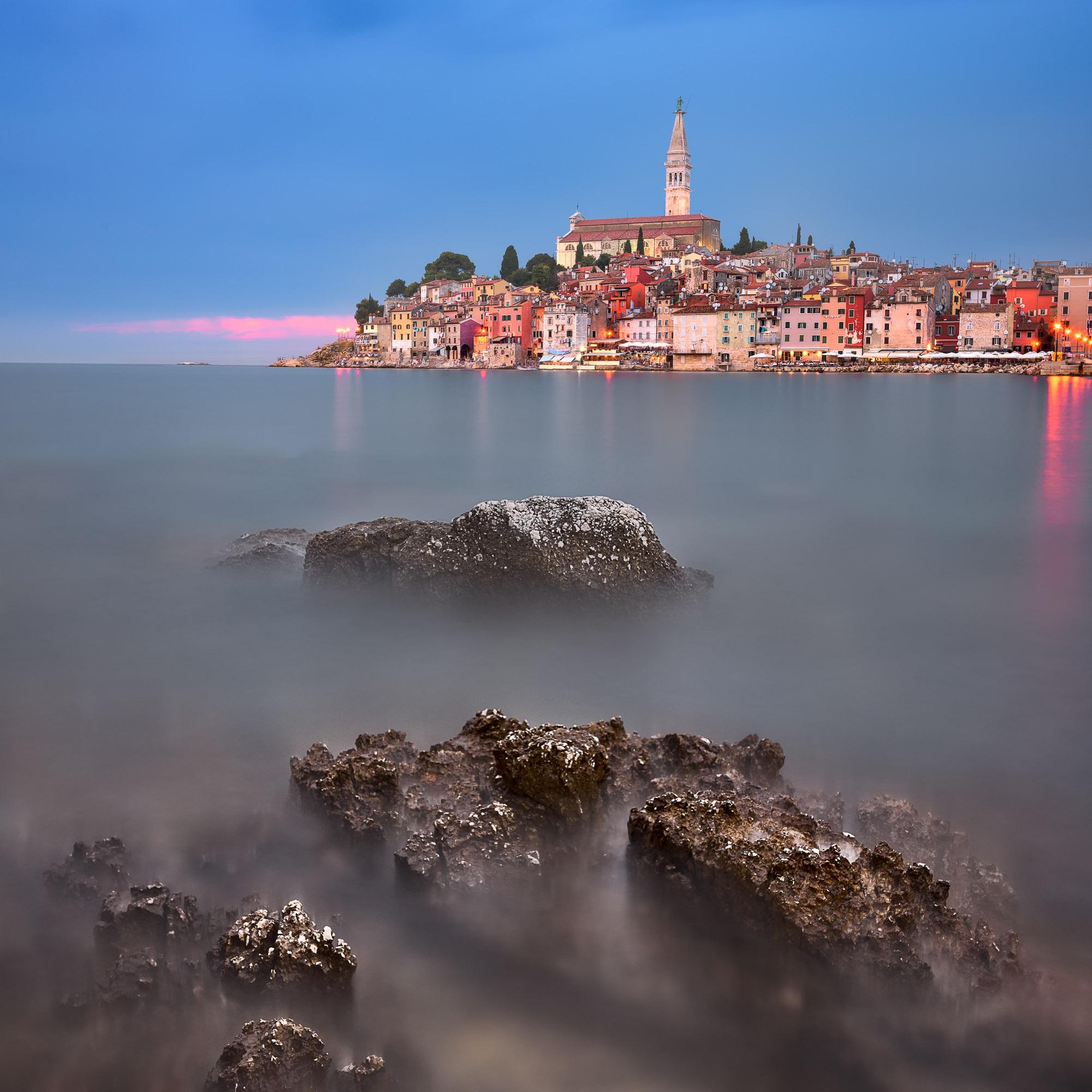 Rovinj in the Evening, Istria, Croatia