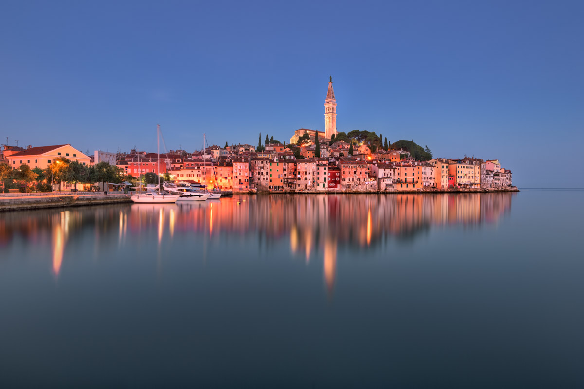 Rovinj Skyline in the Morning, Istria, Croatia