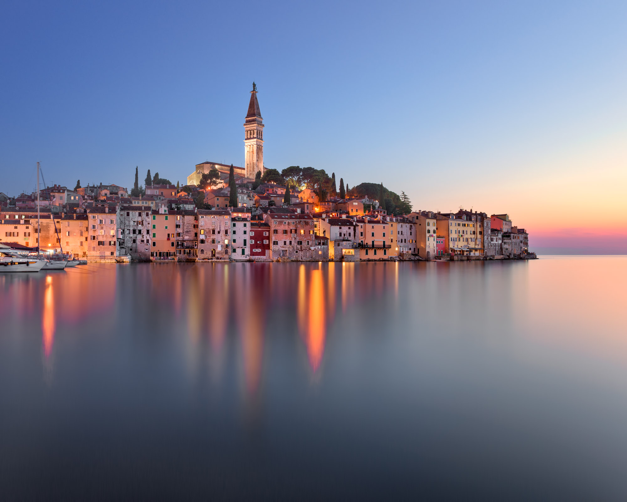 Rovinj Skyline, Istria, Croatia