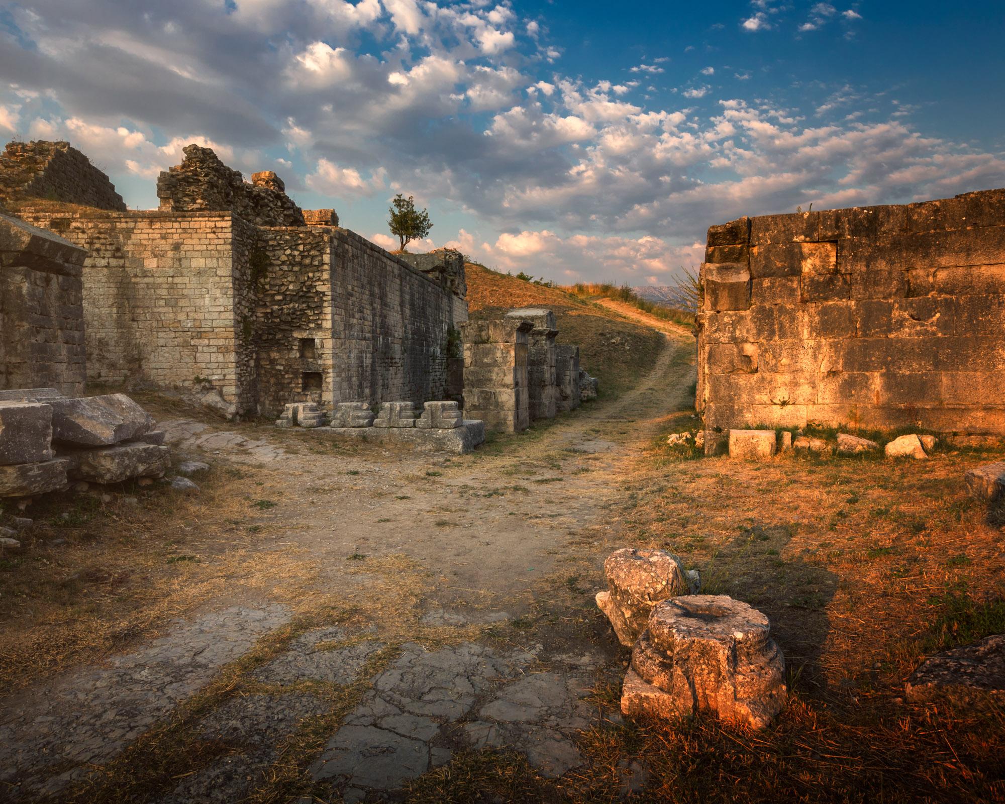 Ruins of Ancient Roman City of Salona, Split, Croatia