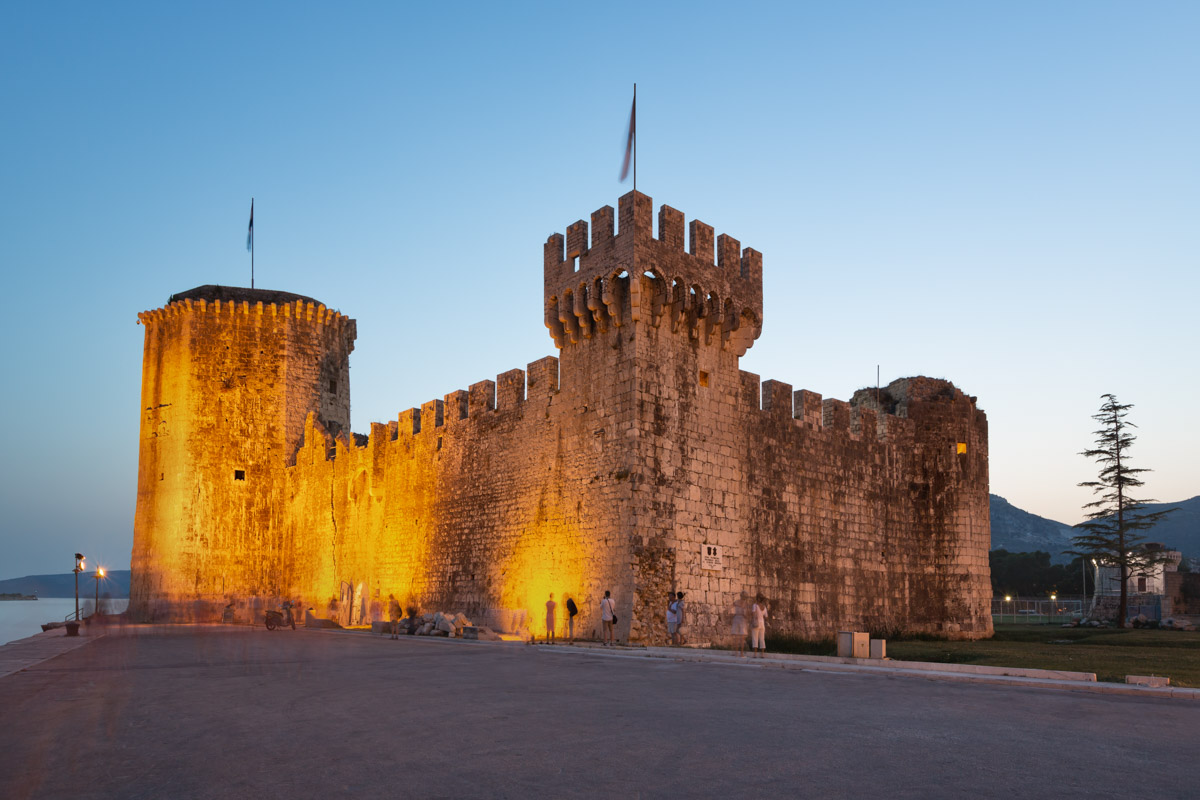 Castle of Kamerlengo in Trogir, Croatia