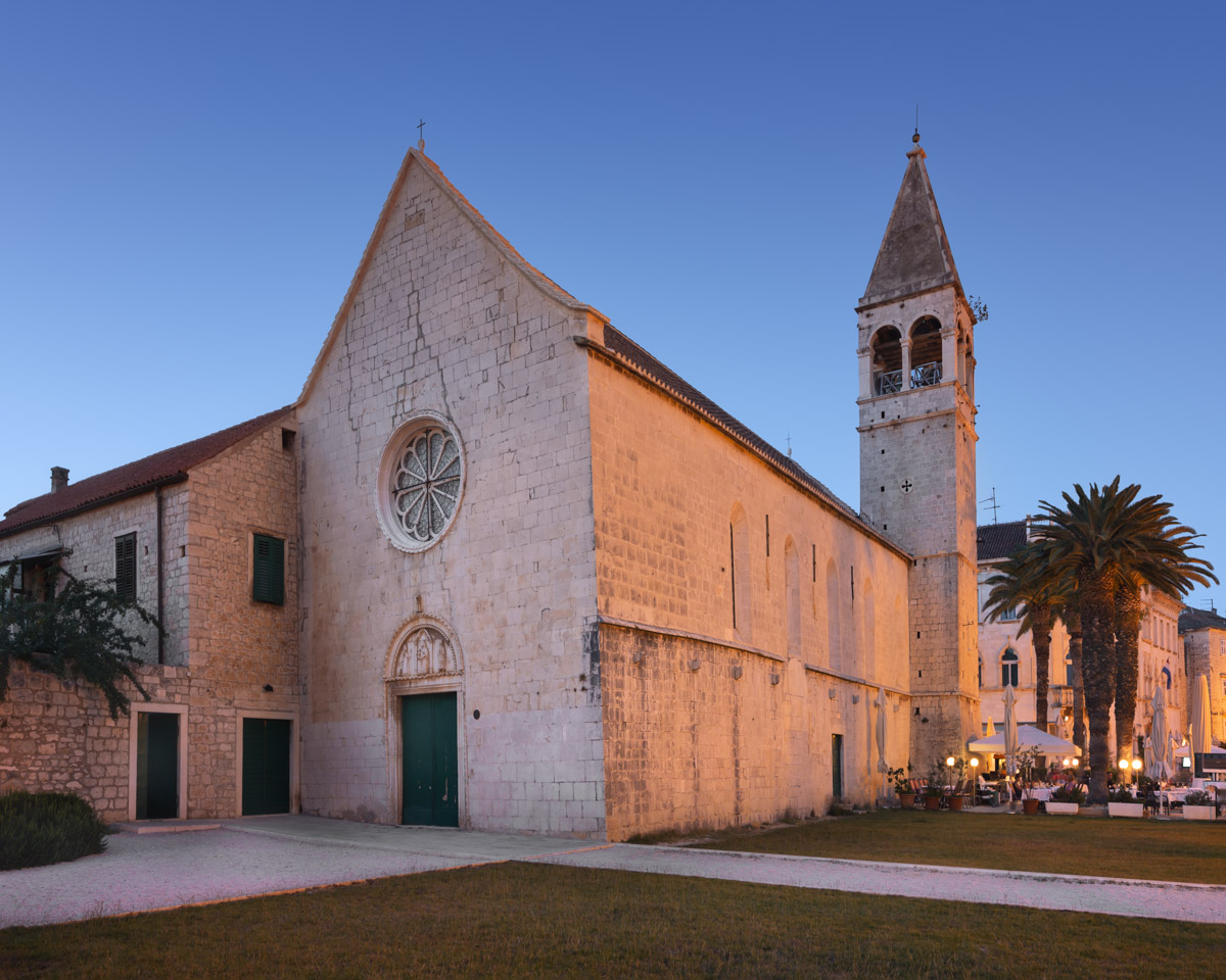 Church of Saint Dominic in Trogir, Croatia