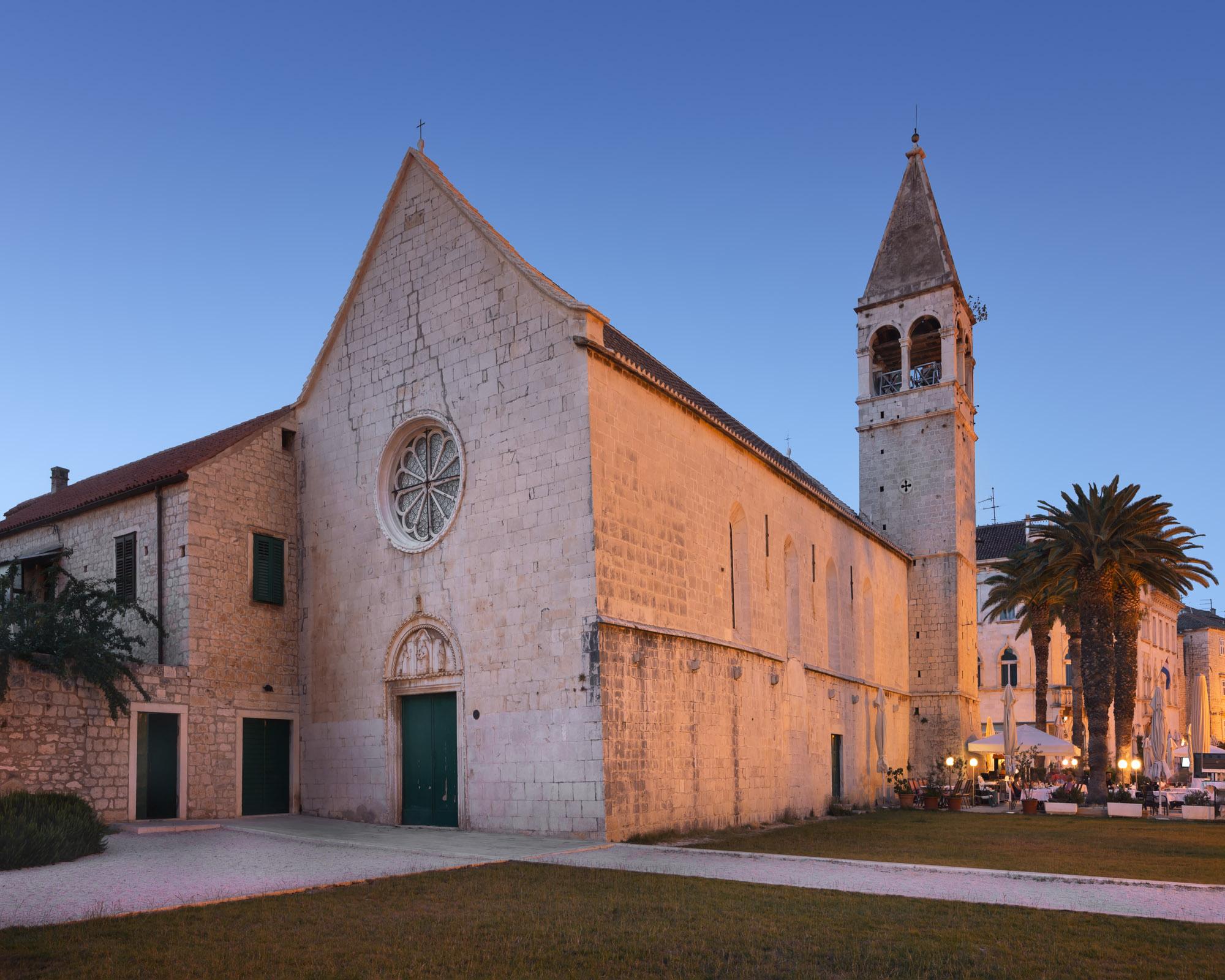 Church of Saint Dominic in Trogir, Croatia