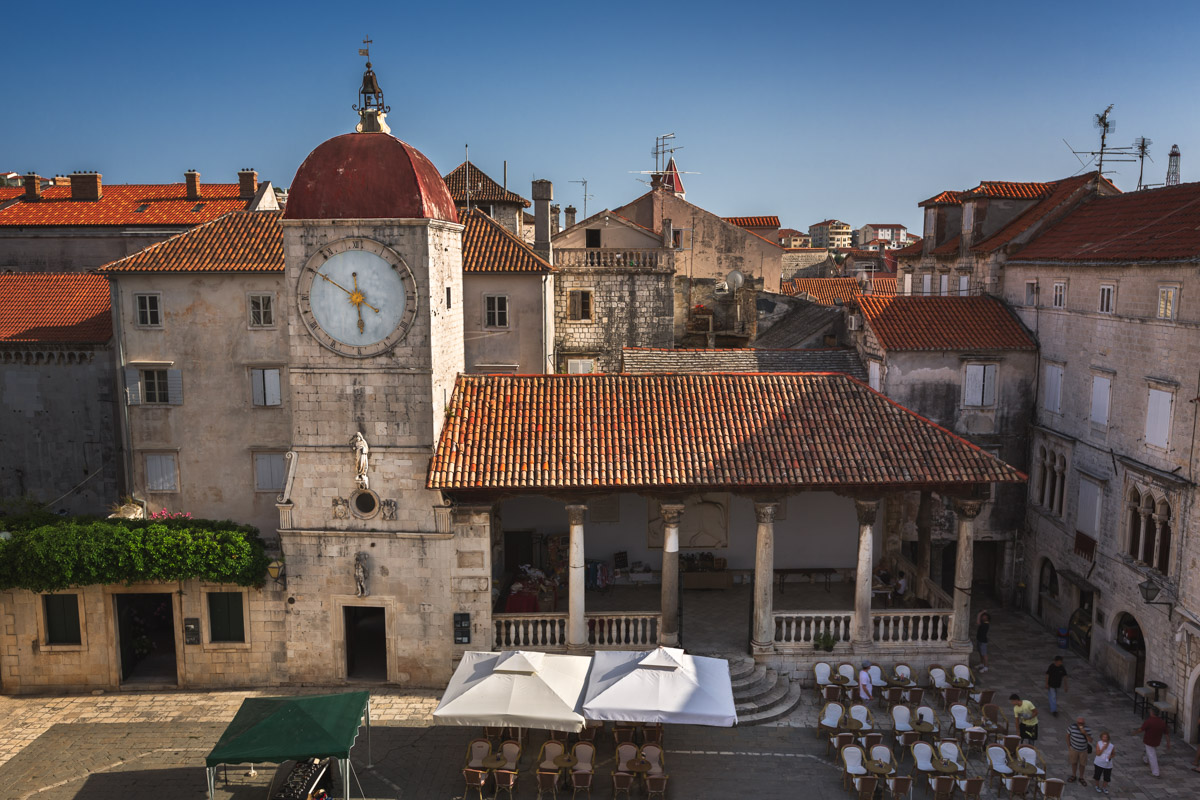 Saint Sebastian Church, Trogir, Croatia