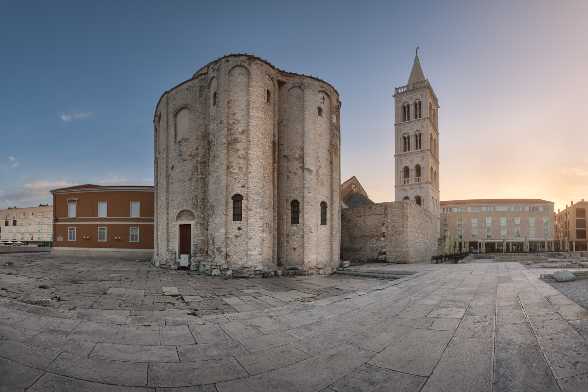 Saint Donatus Church, Zadar, Croatia