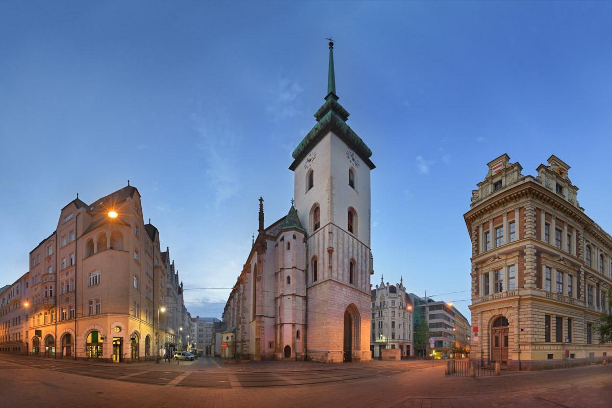 Saint James Church, Brno, Czech Republic