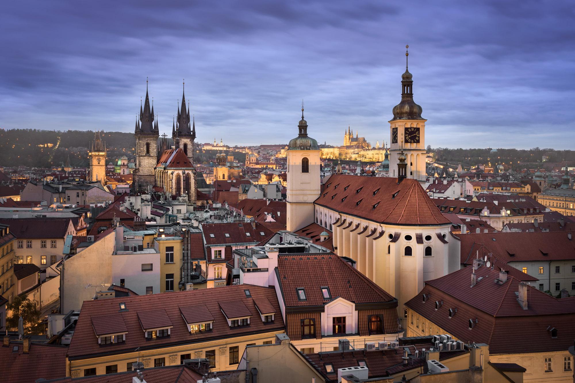 Church of St James the Greater, Prague, Czech Republic