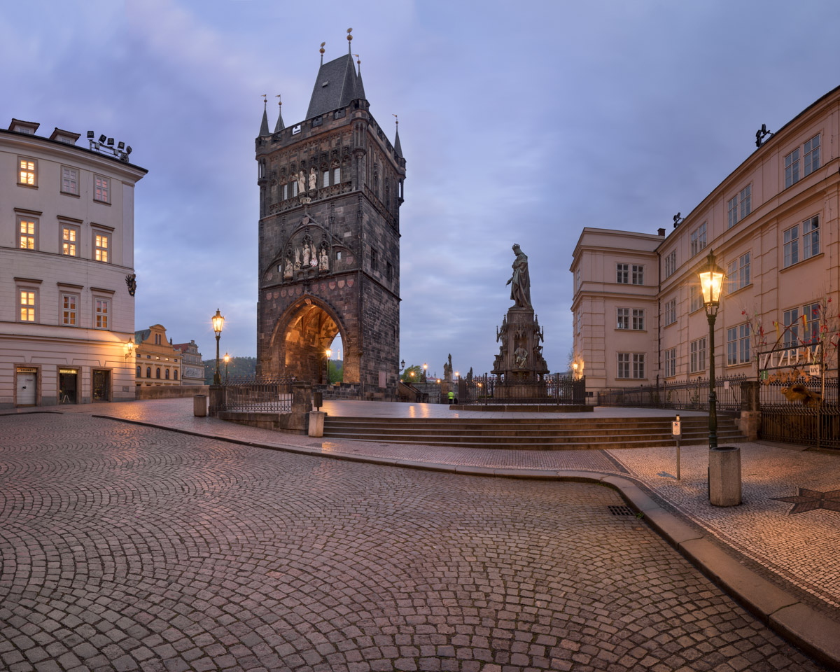 Old Town Bridge Tower, Prague, Czech Republic