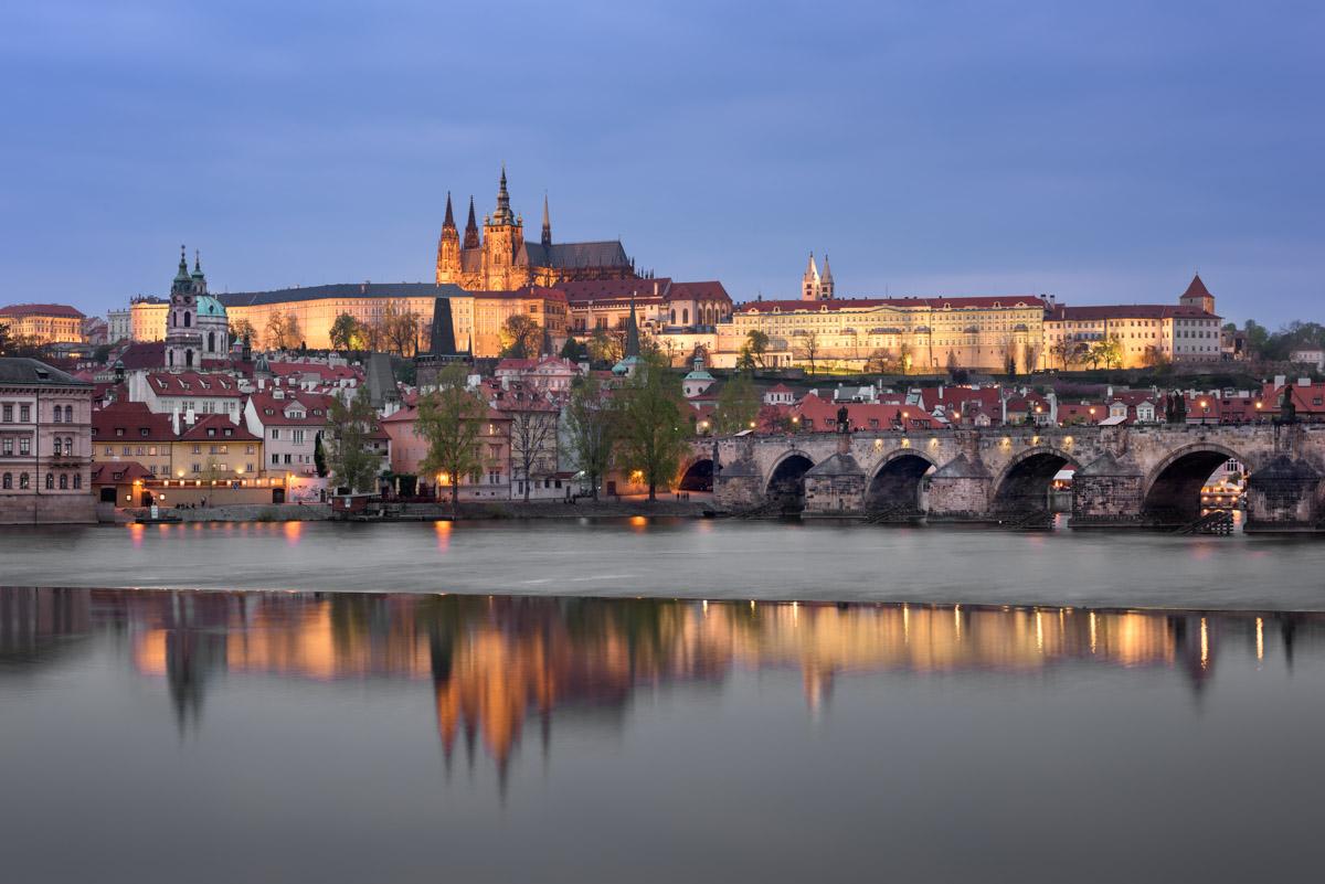 Prague Castle and Saint Vitus Cathedral, Prague, Czech Republic