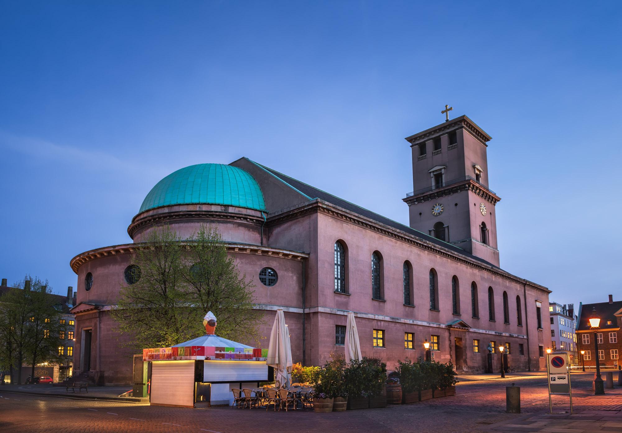 Church of Our Lady in Copenhagen, Denmark