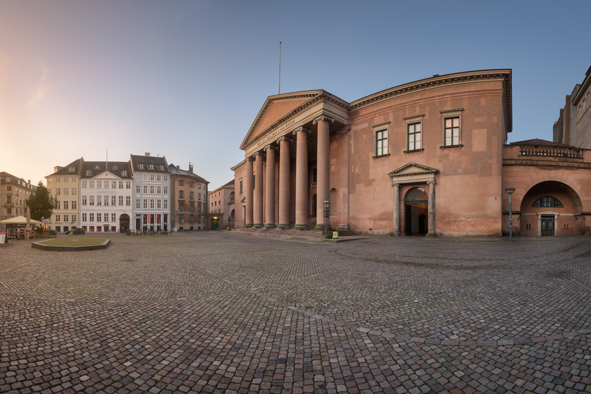 Denmark District Court, Nytorv Square, Copenhagen, Denmark