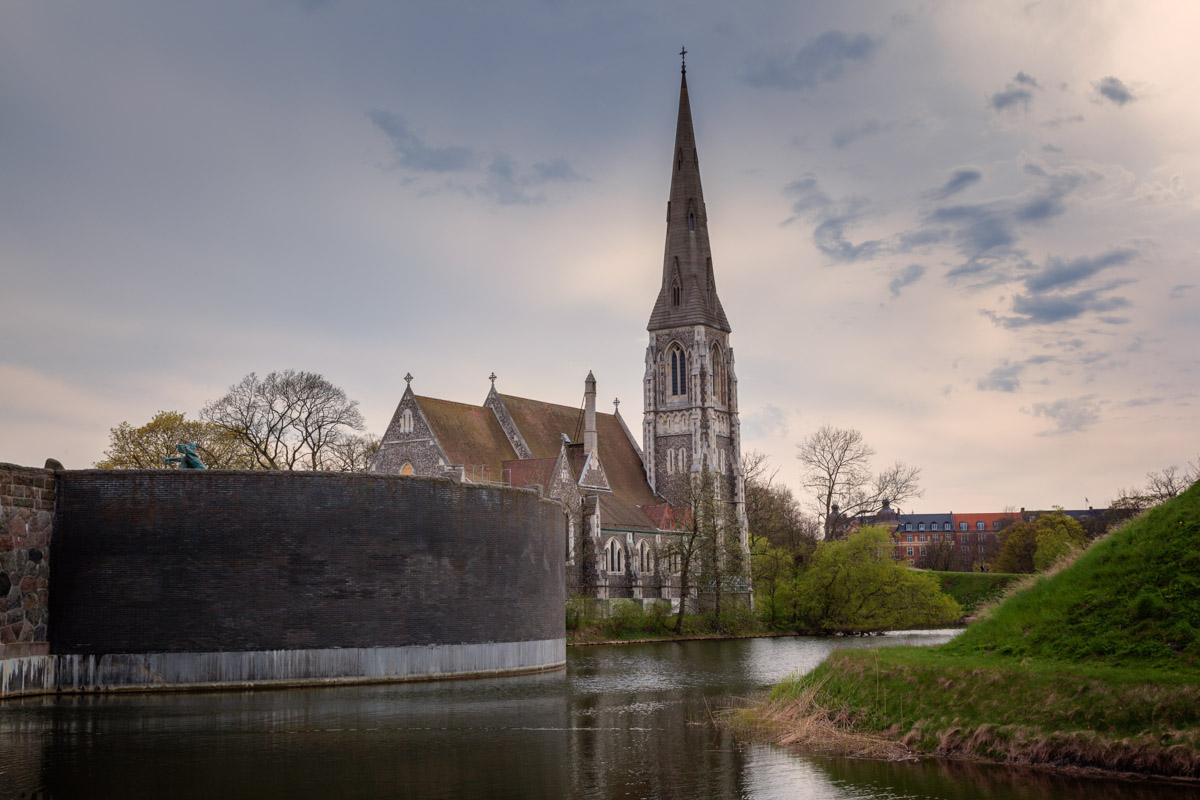 Saint Alban's Church, Copenhagen, Denmark