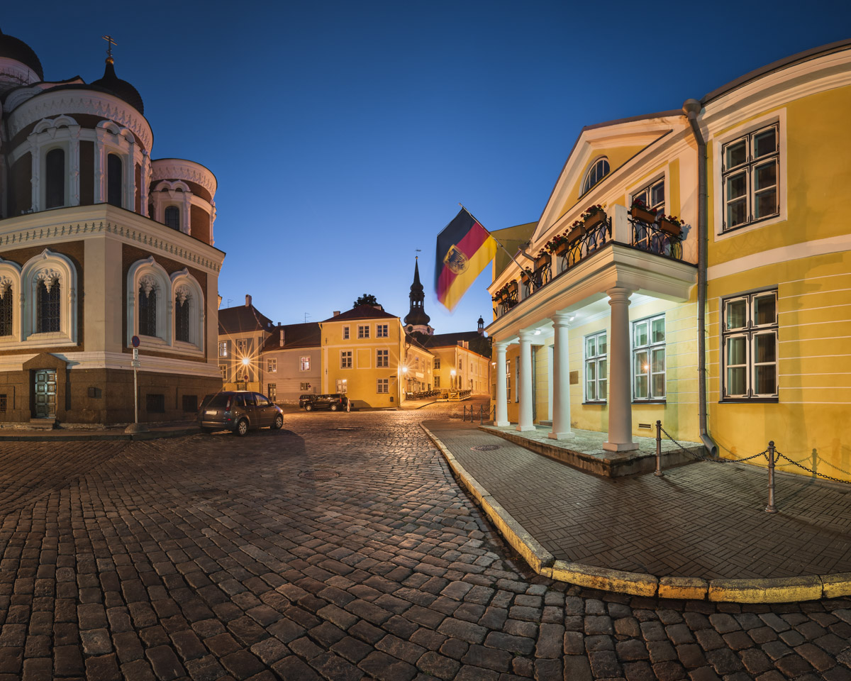 Lossi Plats Square and Alexander Nevski Cathedral, Tallinn