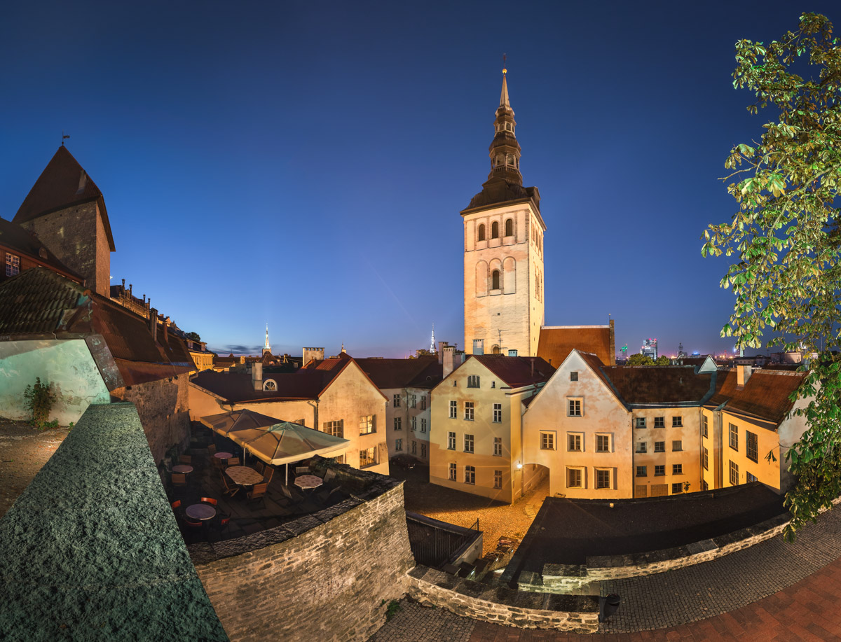 Saint Nicholas Church in Tallinn, Estonia