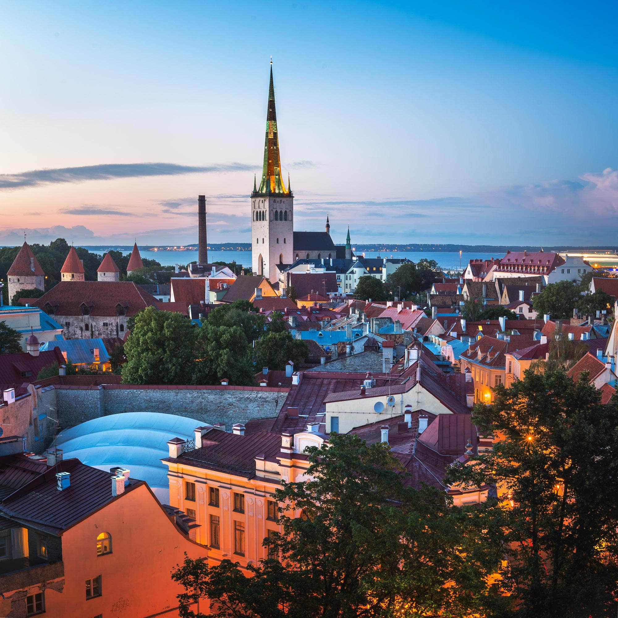 Tallinn Old Town, Tallinn, Estonia