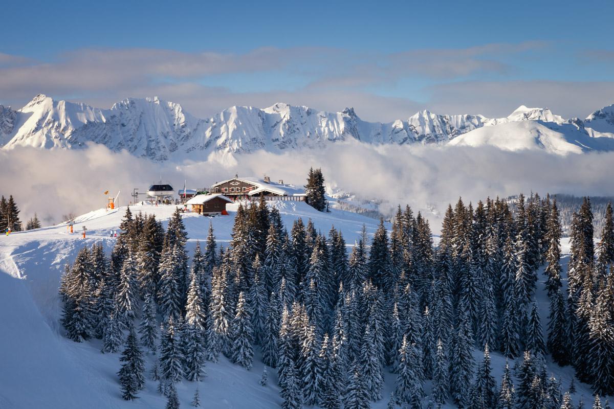 Ski Restaurant L'Alpette, Megeve, France