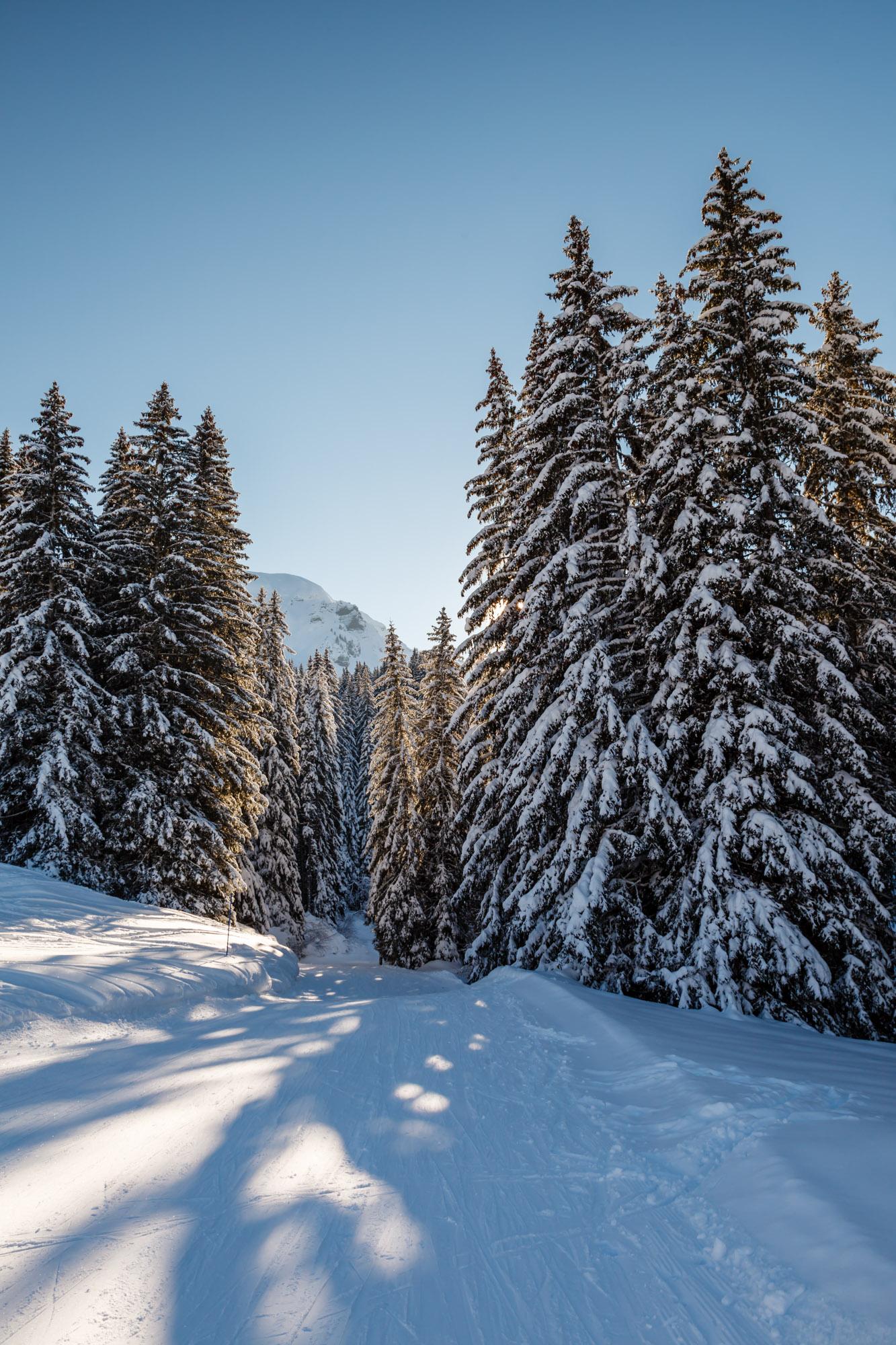 Ski Slope, Megeve, France