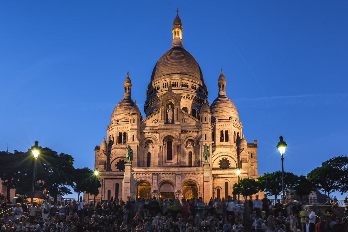 Basilica of the Sacre Coeur, Paris, France