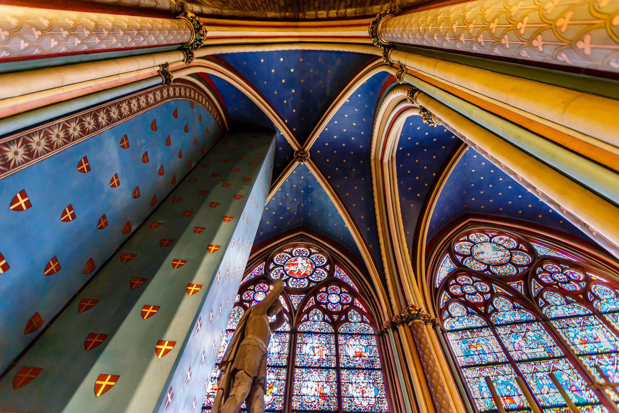 Notre Dame de Paris Interior, Paris, France