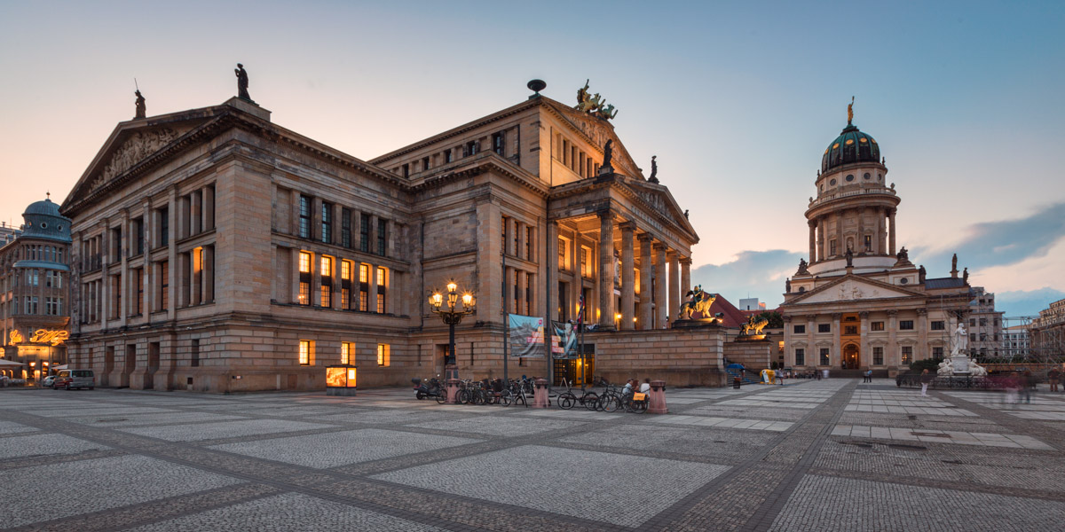 French Cathedral and Concert Hall, Gendarmenmarkt Square, Berlin