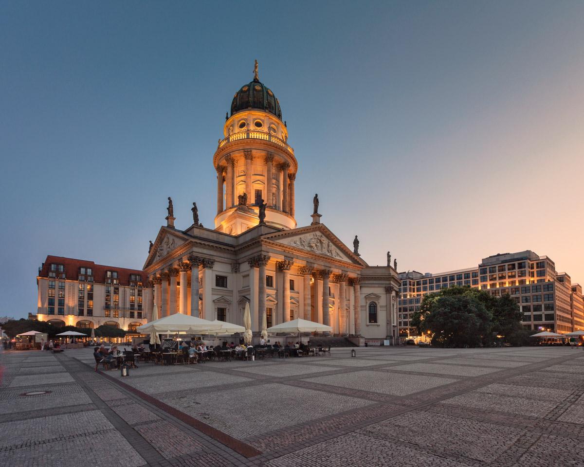 German Cathedral on Gendarmenmarkt Square, Berlin, Germany