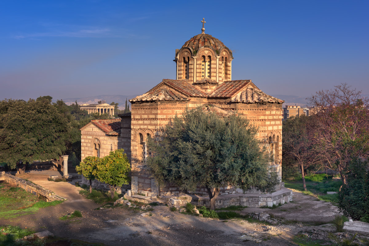 Church of the Holy Apostles, Agora, Athens, Greece