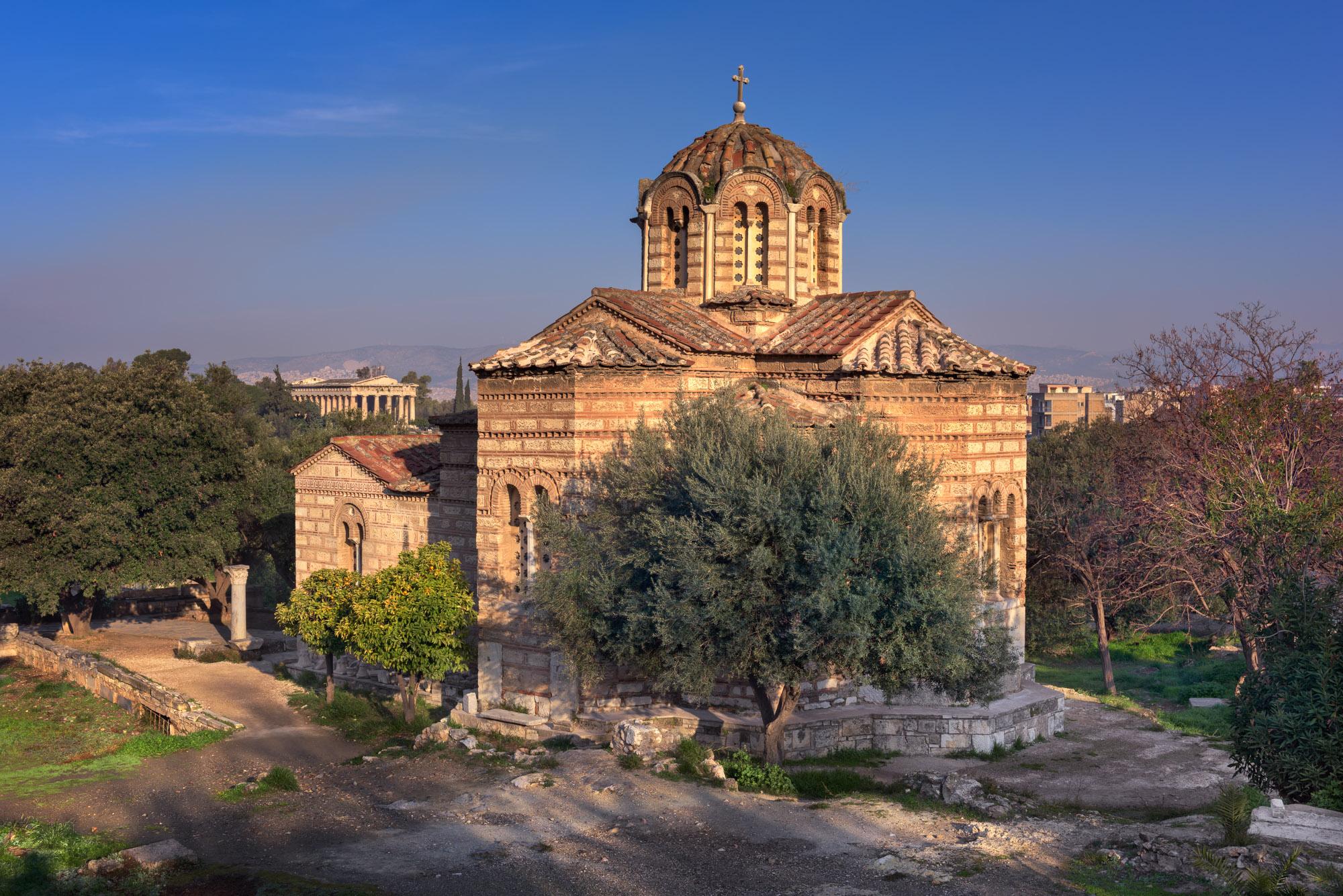Church of the Holy Apostles, Agora, Athens, Greece