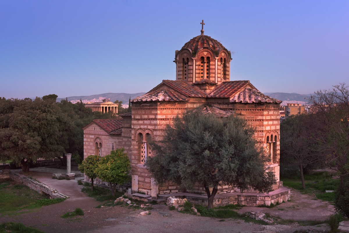 Church of the Holy Apostles and Temple of Hephaestus, Athens