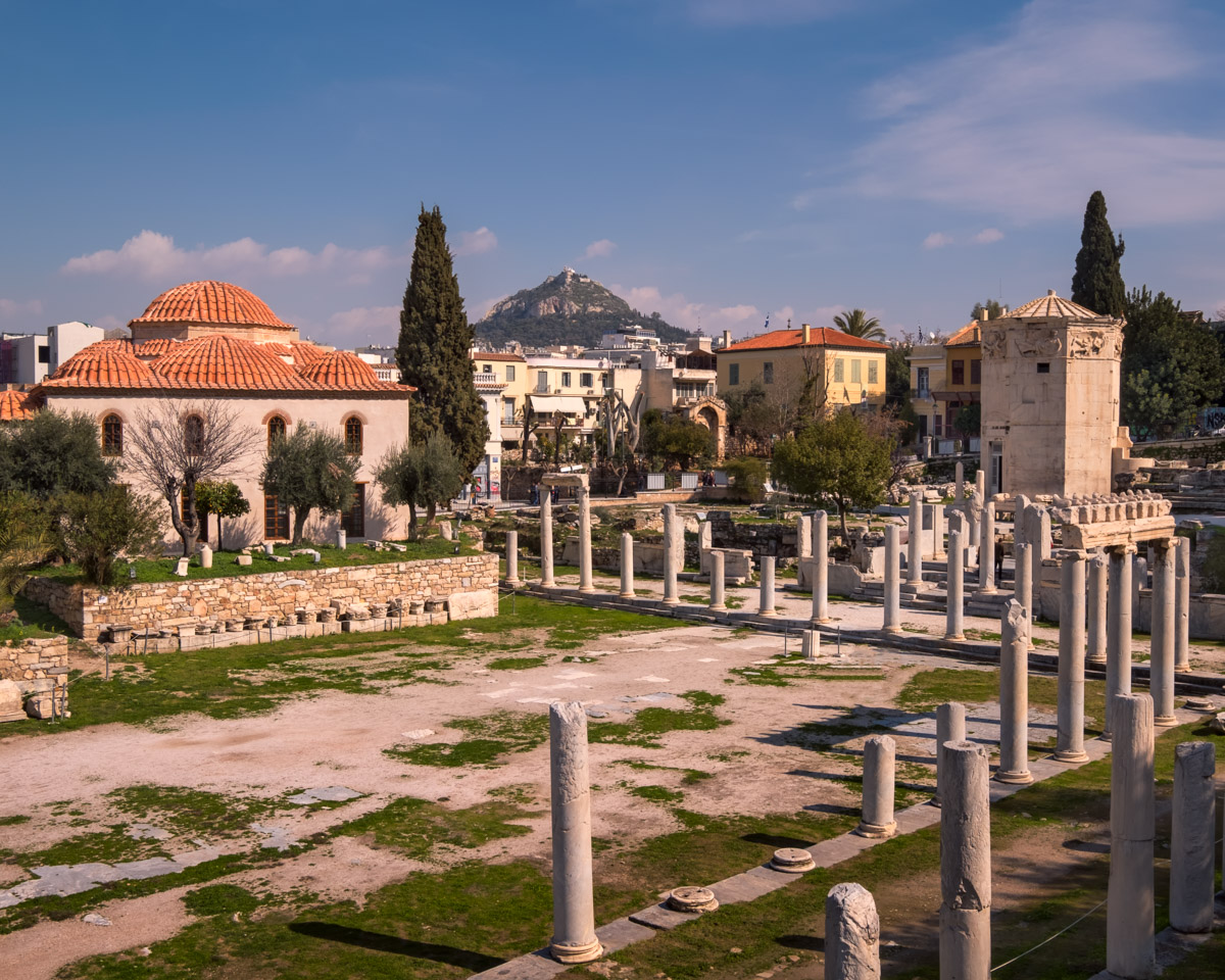 Roman Agora and Tower of the Winds, Athens, Greece