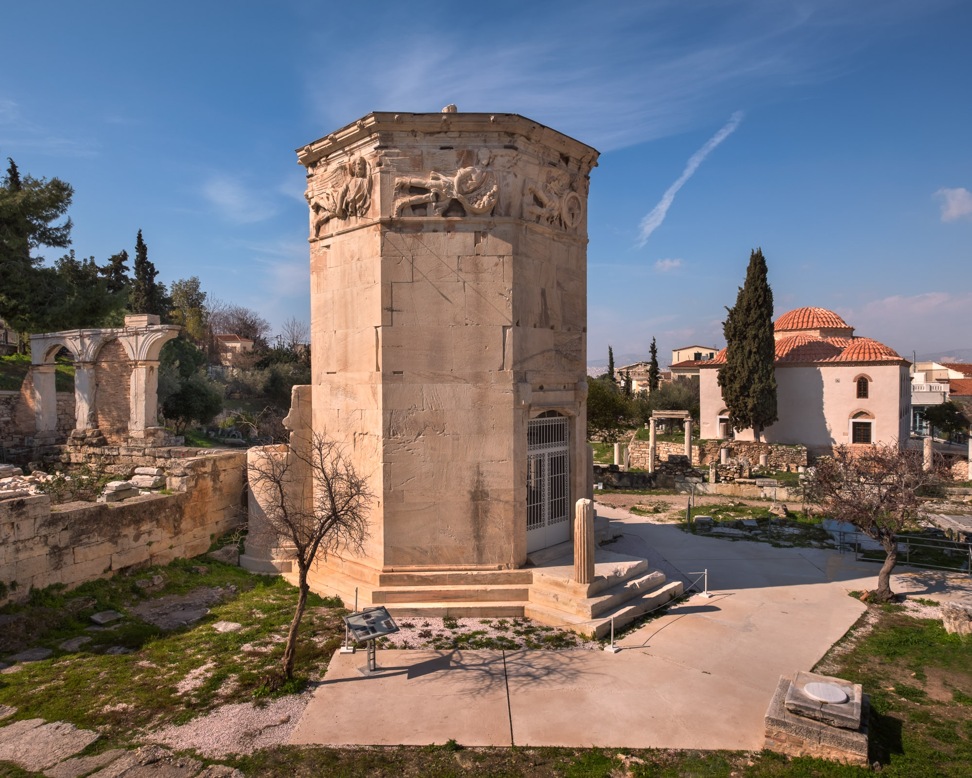 Tower of the Winds and Roman Agora, Athens, Greece