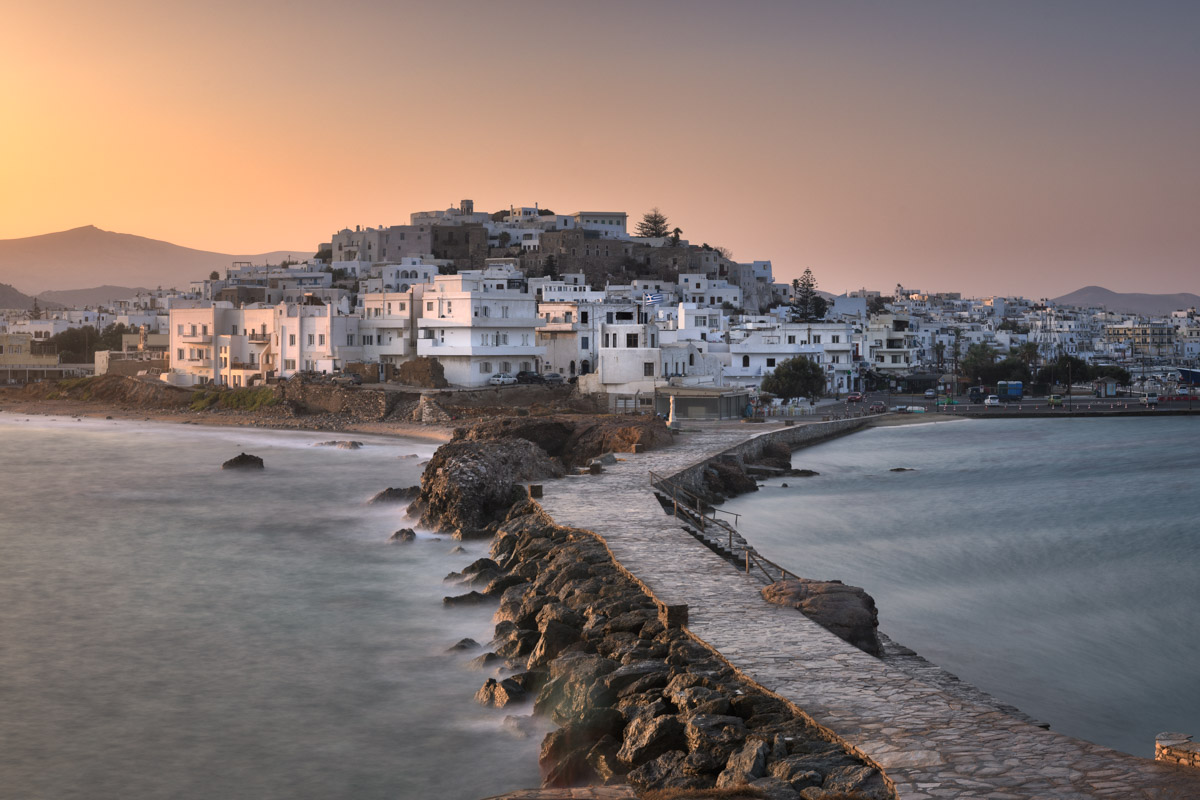 Chora Skyline, Naxos, Greece