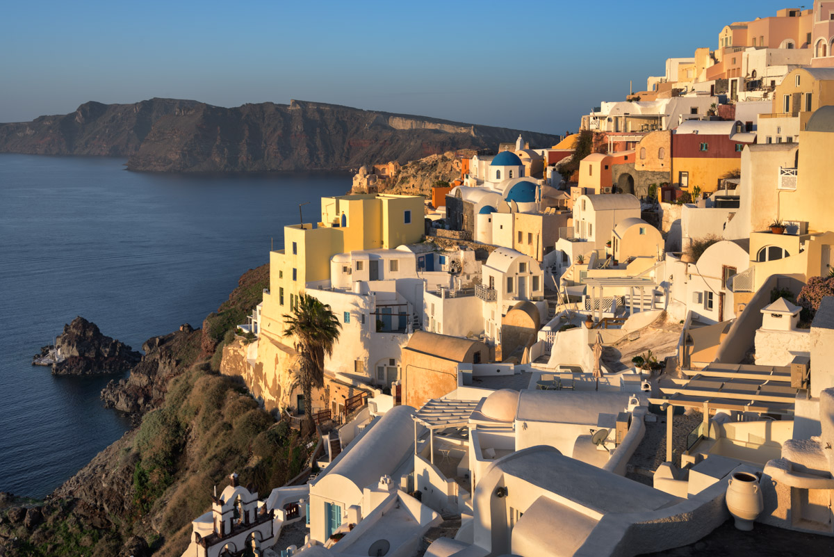 Oia in the Morning, Santorini, Greece