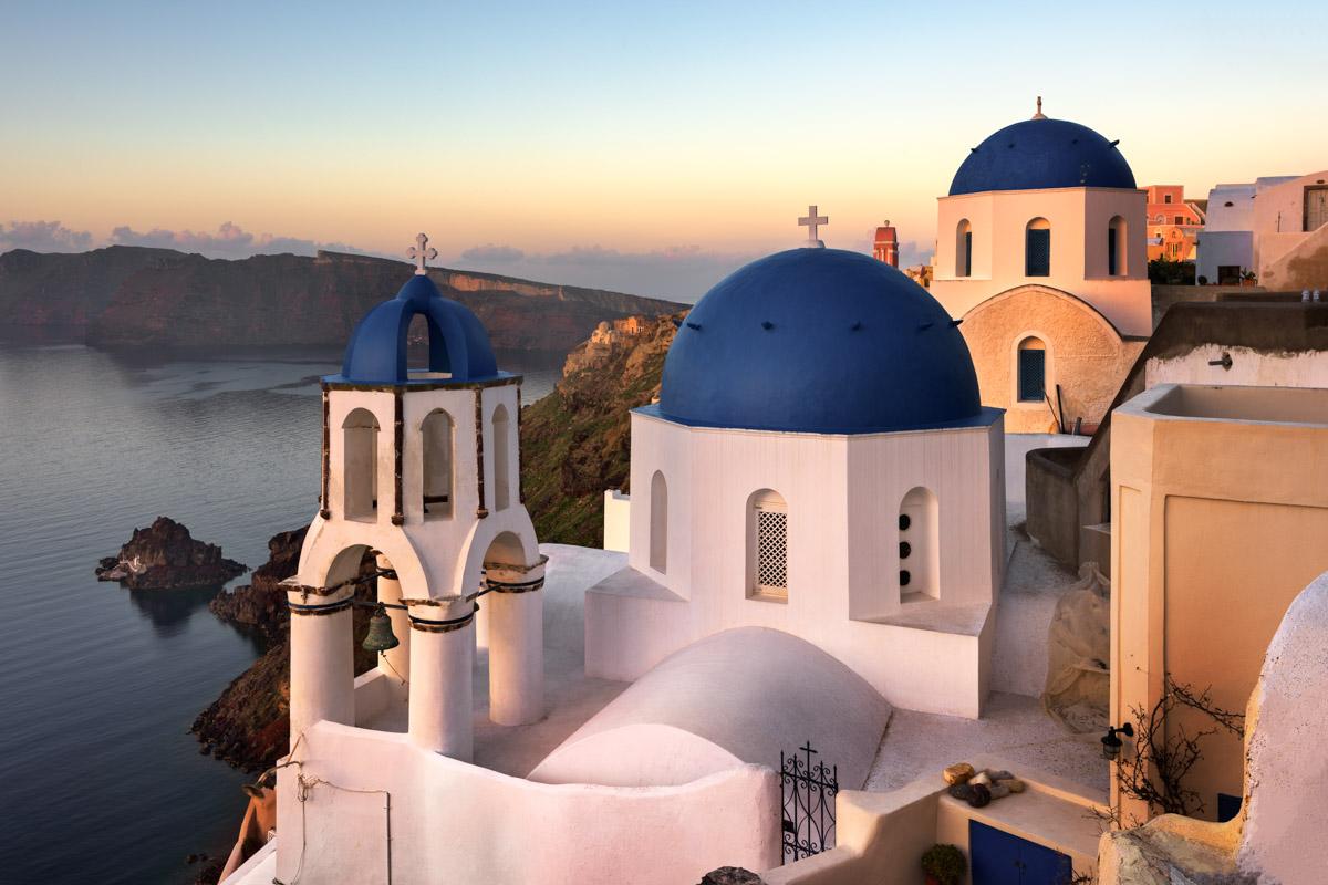 Saint Spyridon Church, Anastasis Church, Oia, Santorini, Greece
