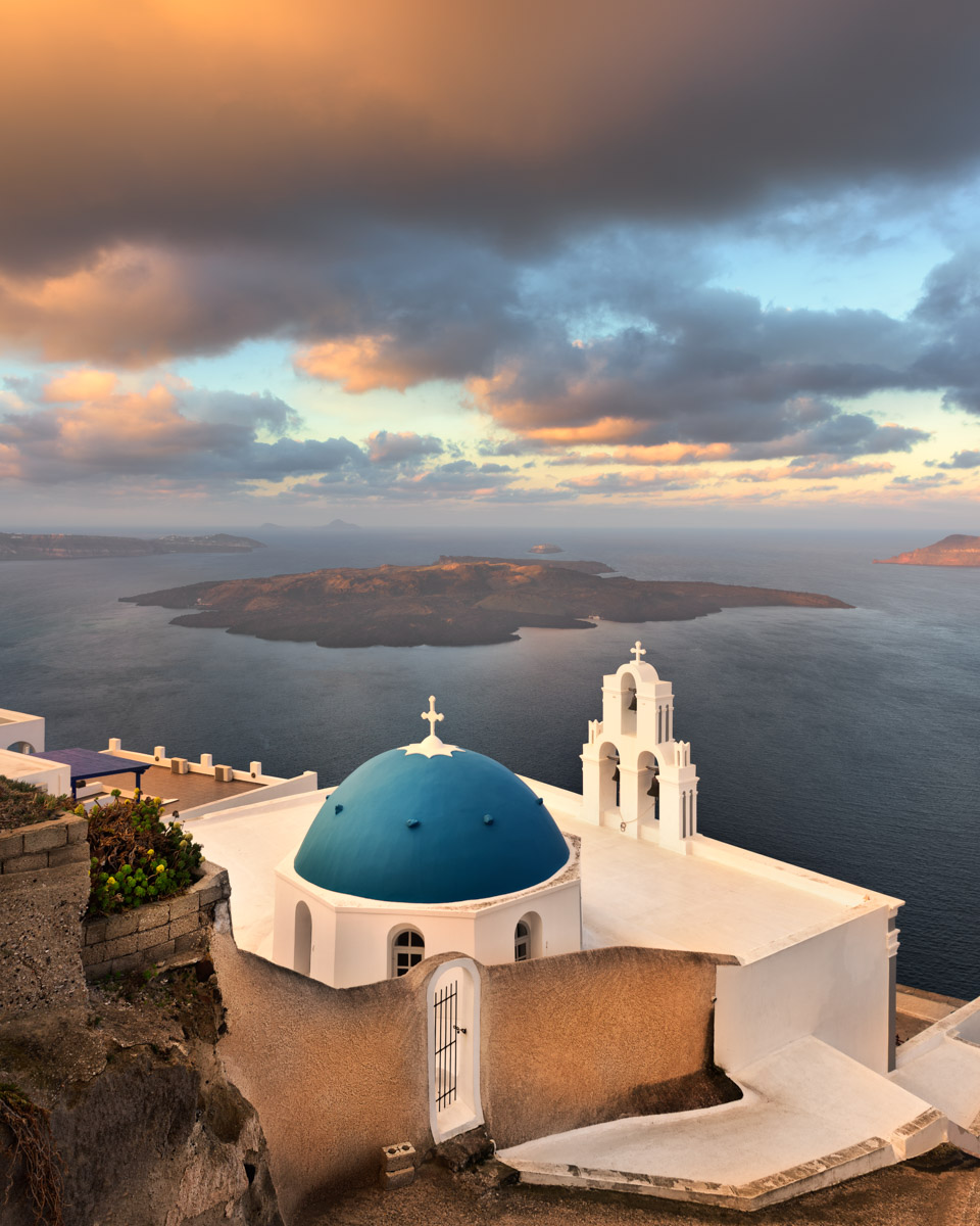 Saint Theodore Church, Fira, Santorini, Greece