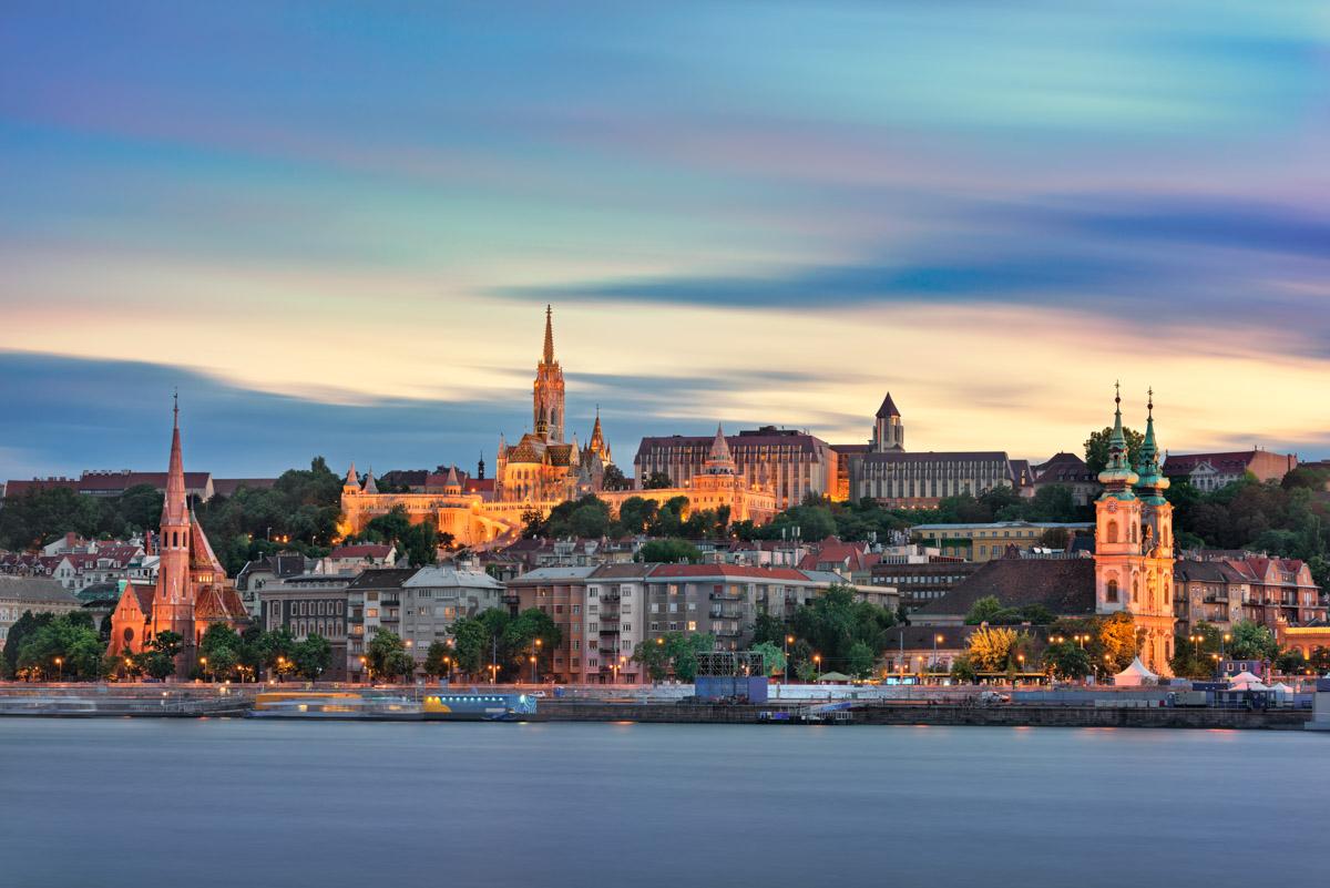 Buda Skyline, Budapest, Hungary