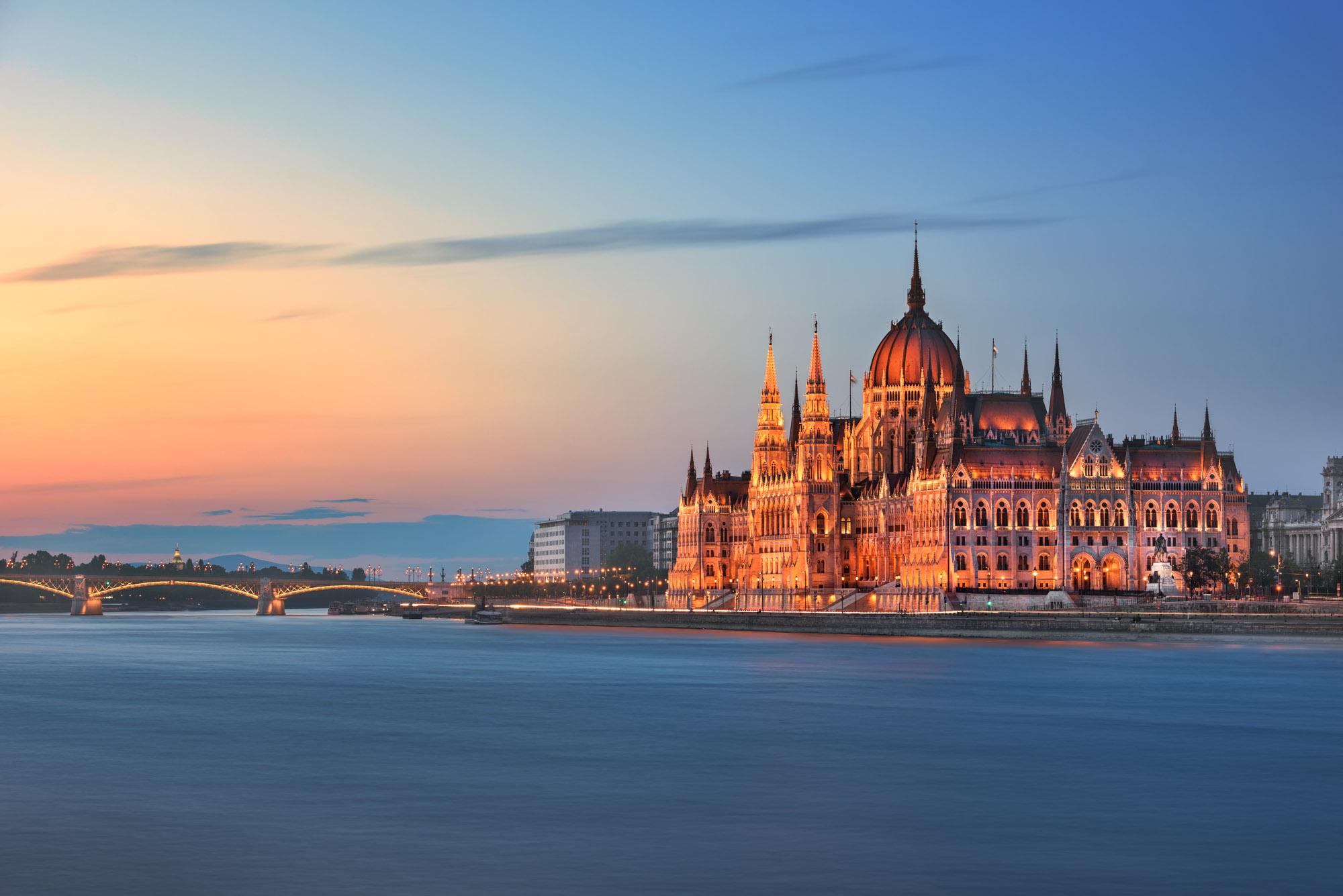 Budapest Parliament, Danube River Embankment, Budapest, Hungary