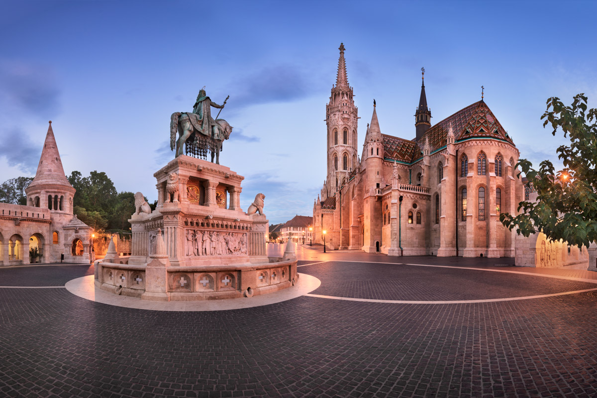 Fisherman Bastion and Saint Matthias Church, Budapest, Hungary
