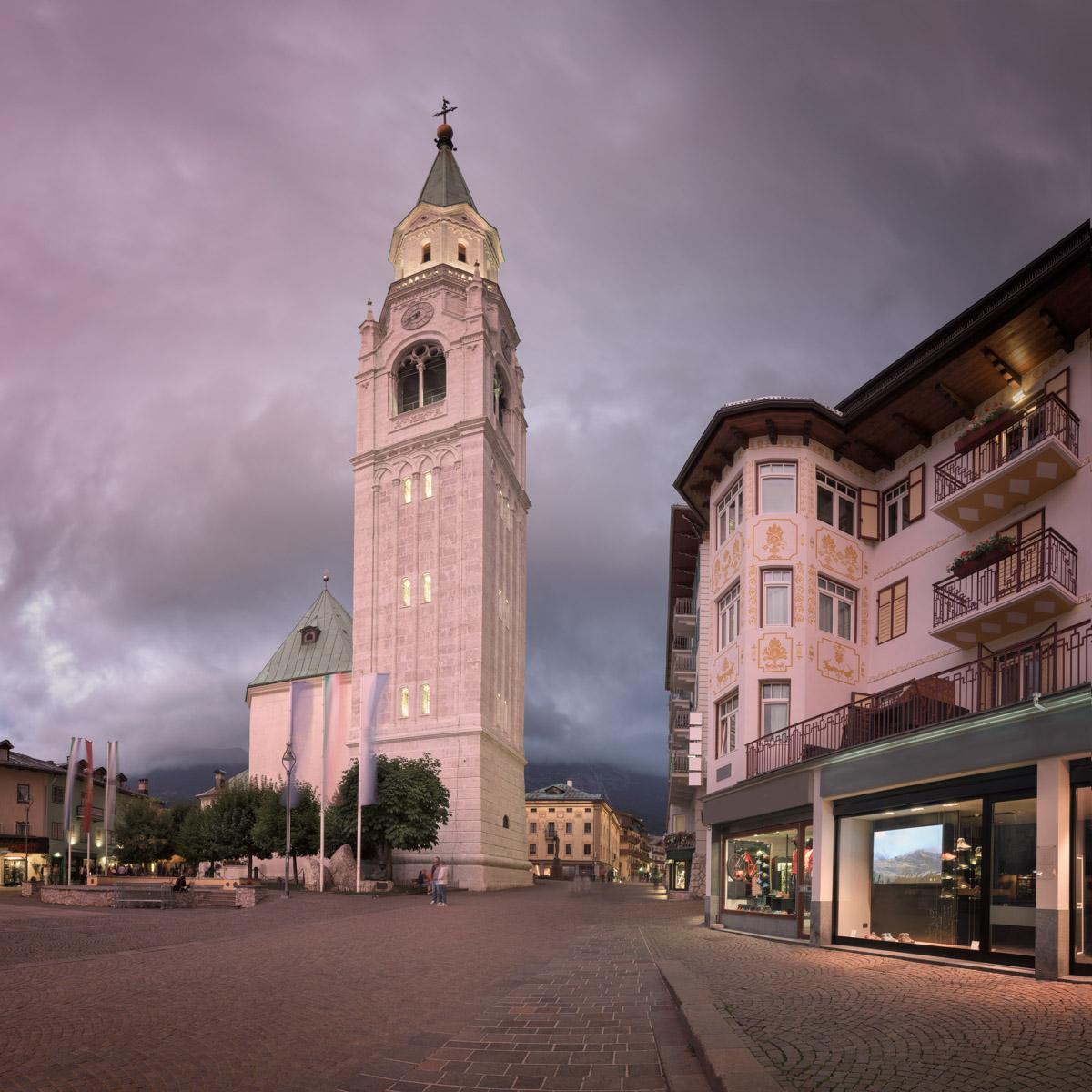 Basilica Minore dei Santi Filippo e Giacomo in Cortina d'Ampezzo